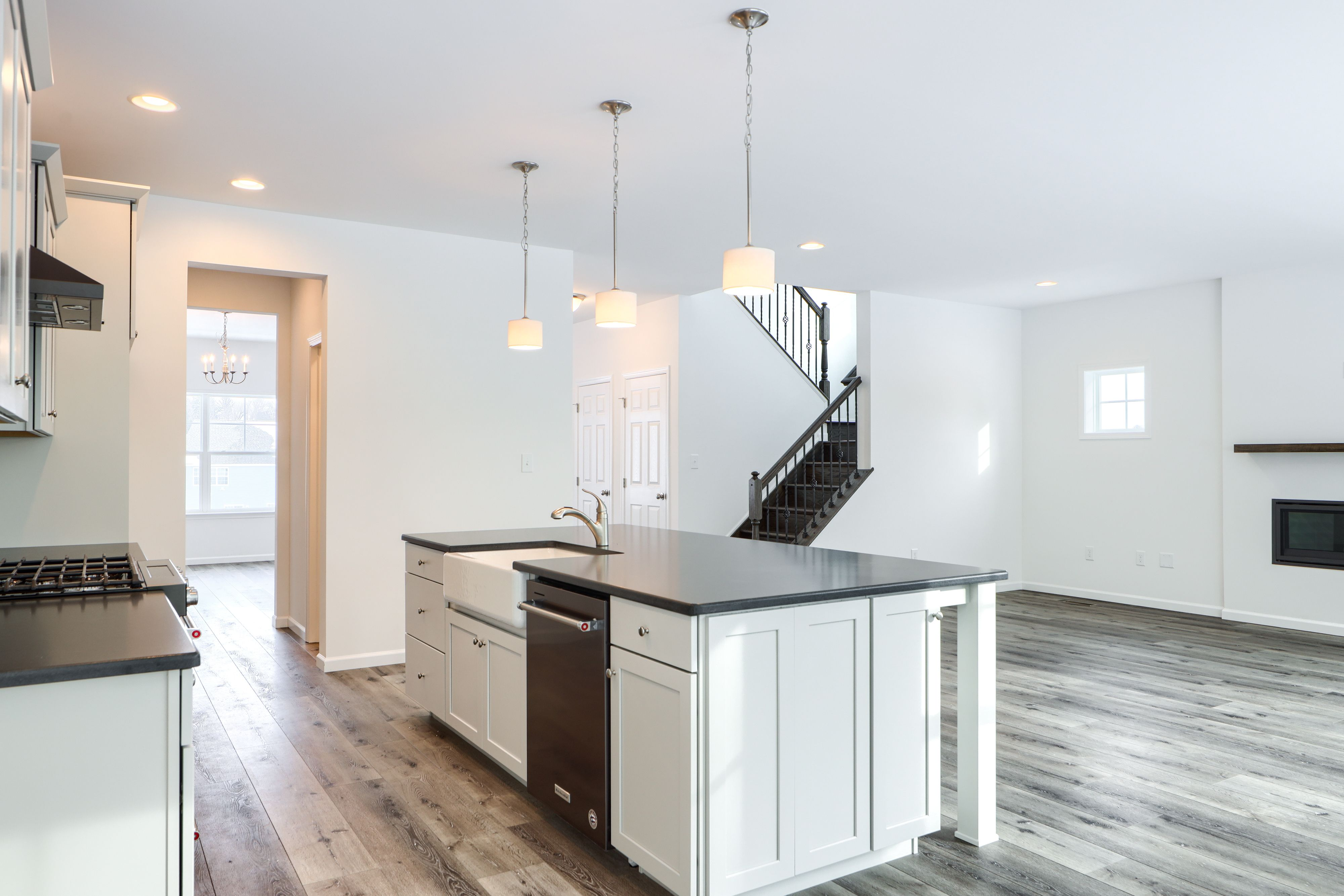 Kitchen featured in the Addison Vintage By Keystone Custom Homes in Lancaster, PA