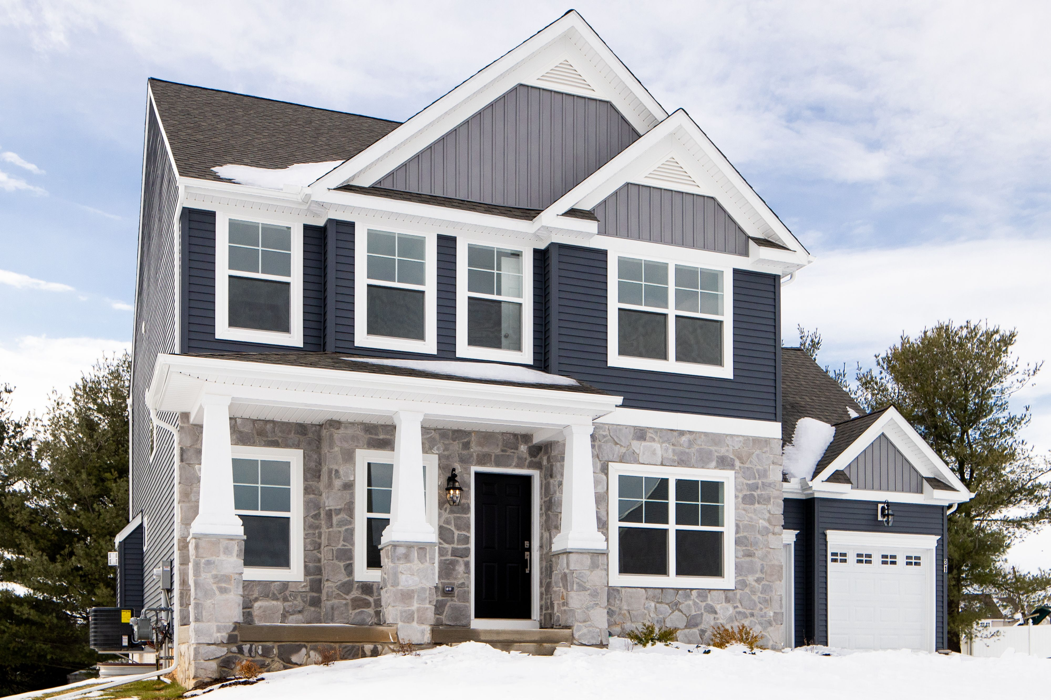 Exterior featured in the Addison Heritage By Keystone Custom Homes in Washington, MD