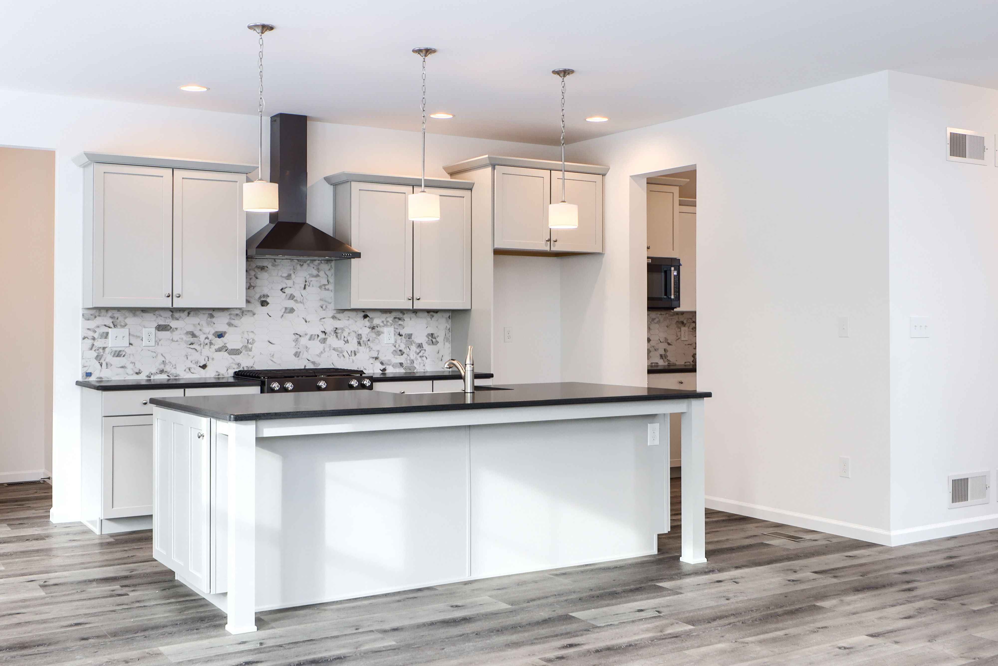 Kitchen featured in the Addison Heritage By Keystone Custom Homes in Wilmington-Newark, MD