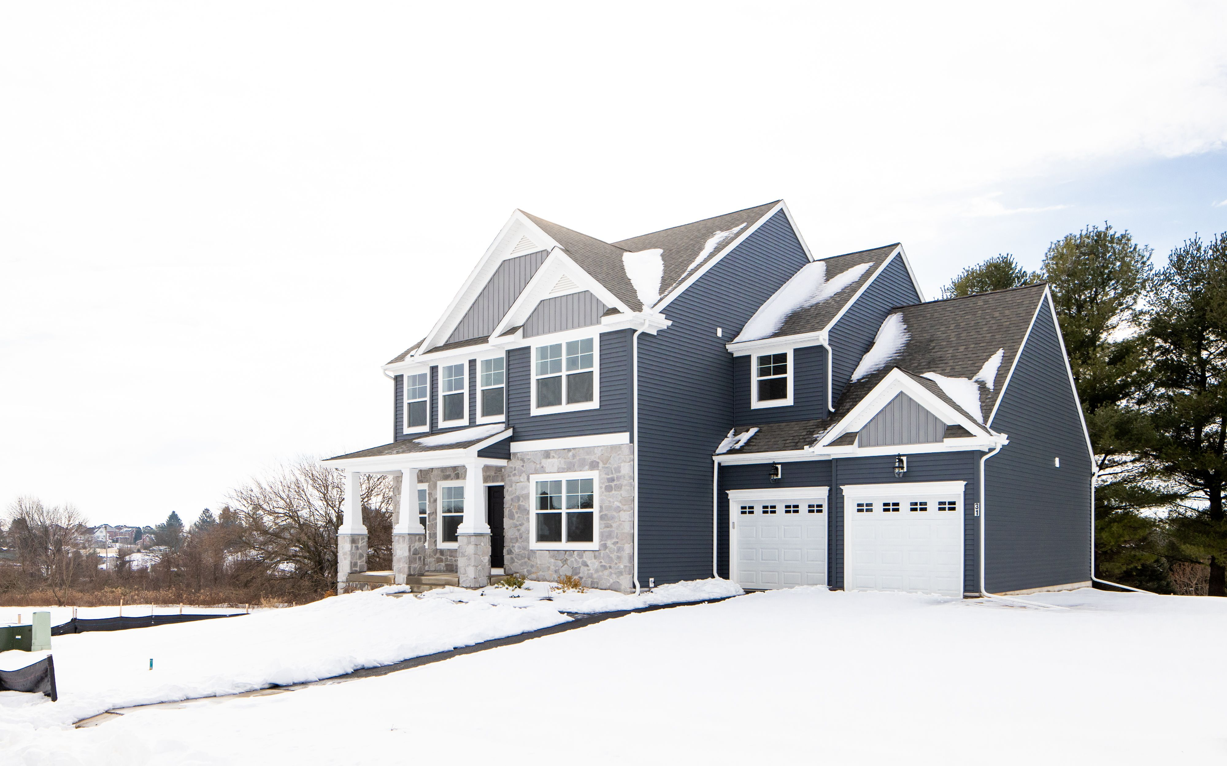 Exterior featured in the Addison Vintage By Keystone Custom Homes in Lancaster, PA