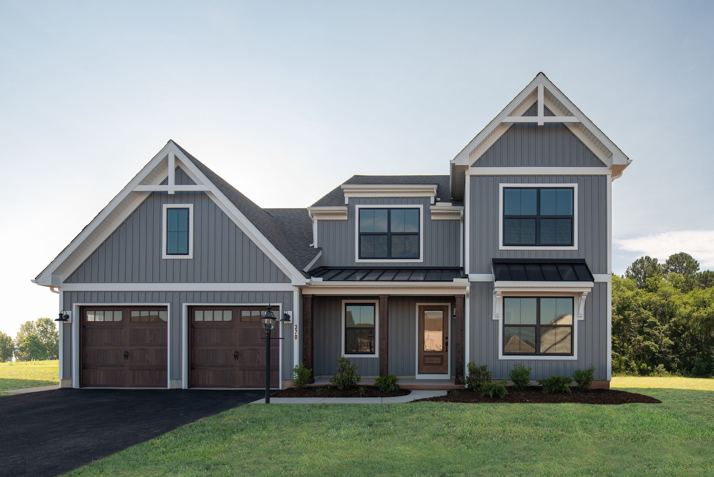 Exterior featured in the Sycamore Farmhouse By Keystone Custom Homes in Harrisburg, PA