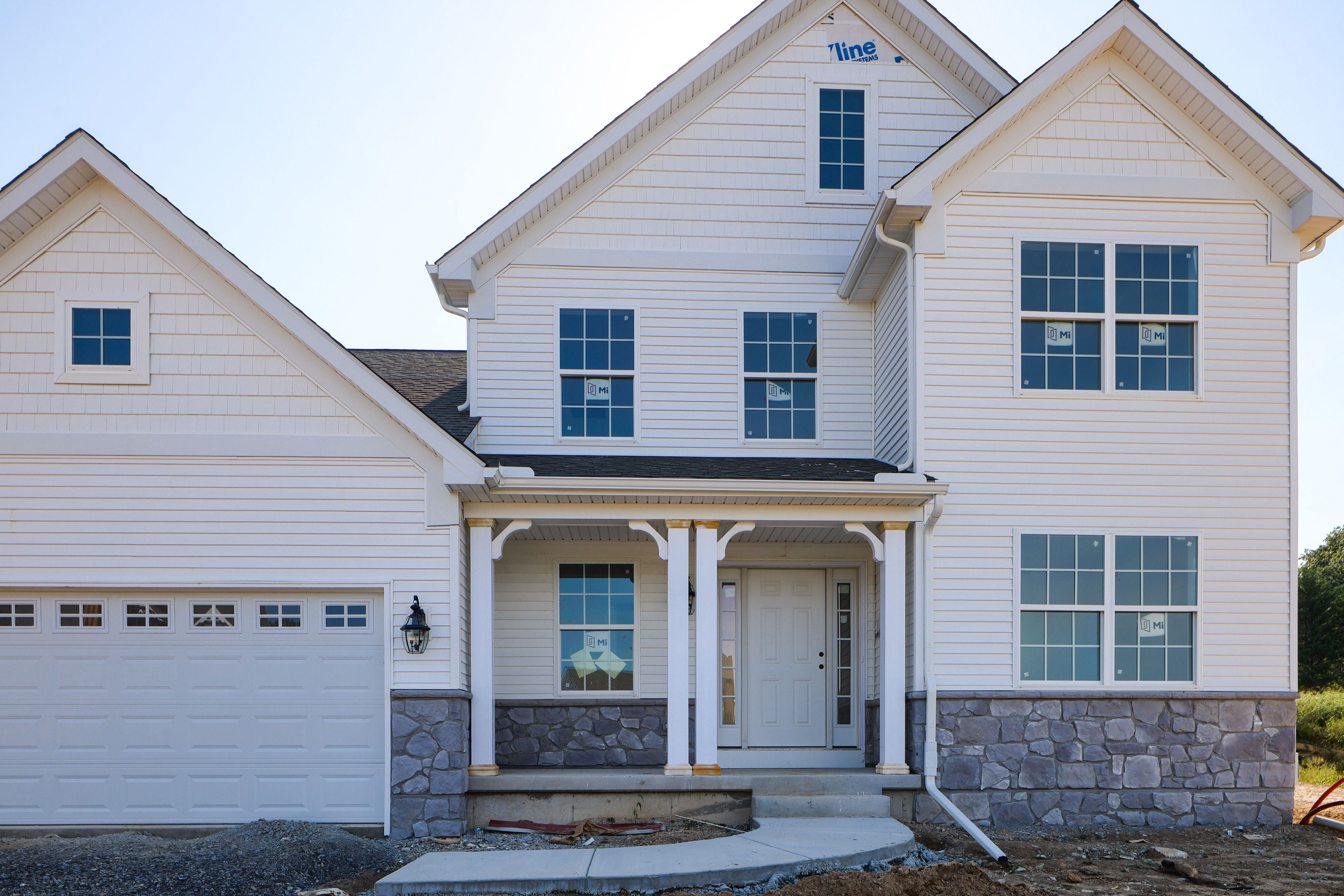 Exterior featured in the Sycamore Bordeaux By Keystone Custom Homes in Philadelphia, PA