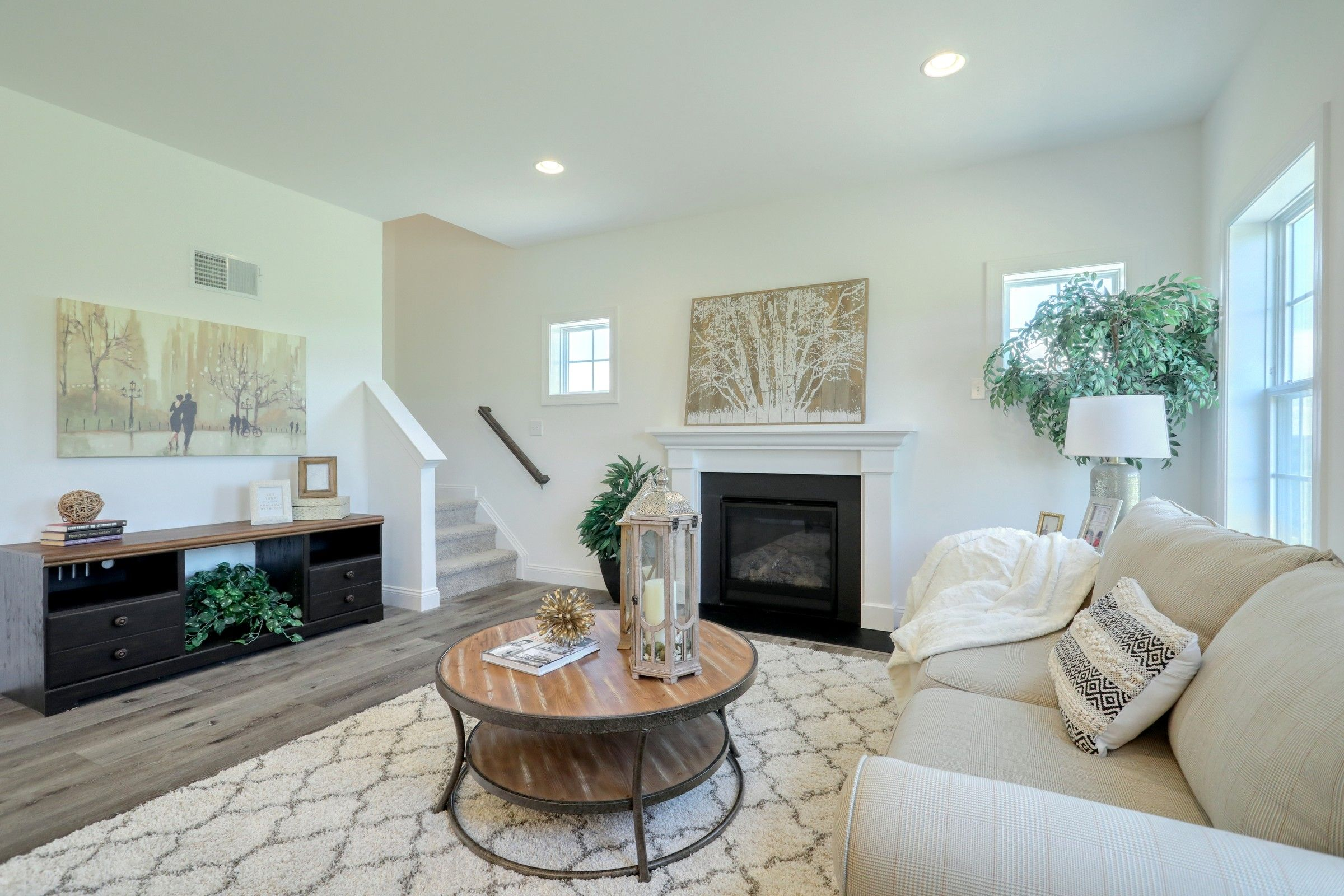 Living Area featured in the Lachlan Traditional By Keystone Custom Homes in Philadelphia, PA