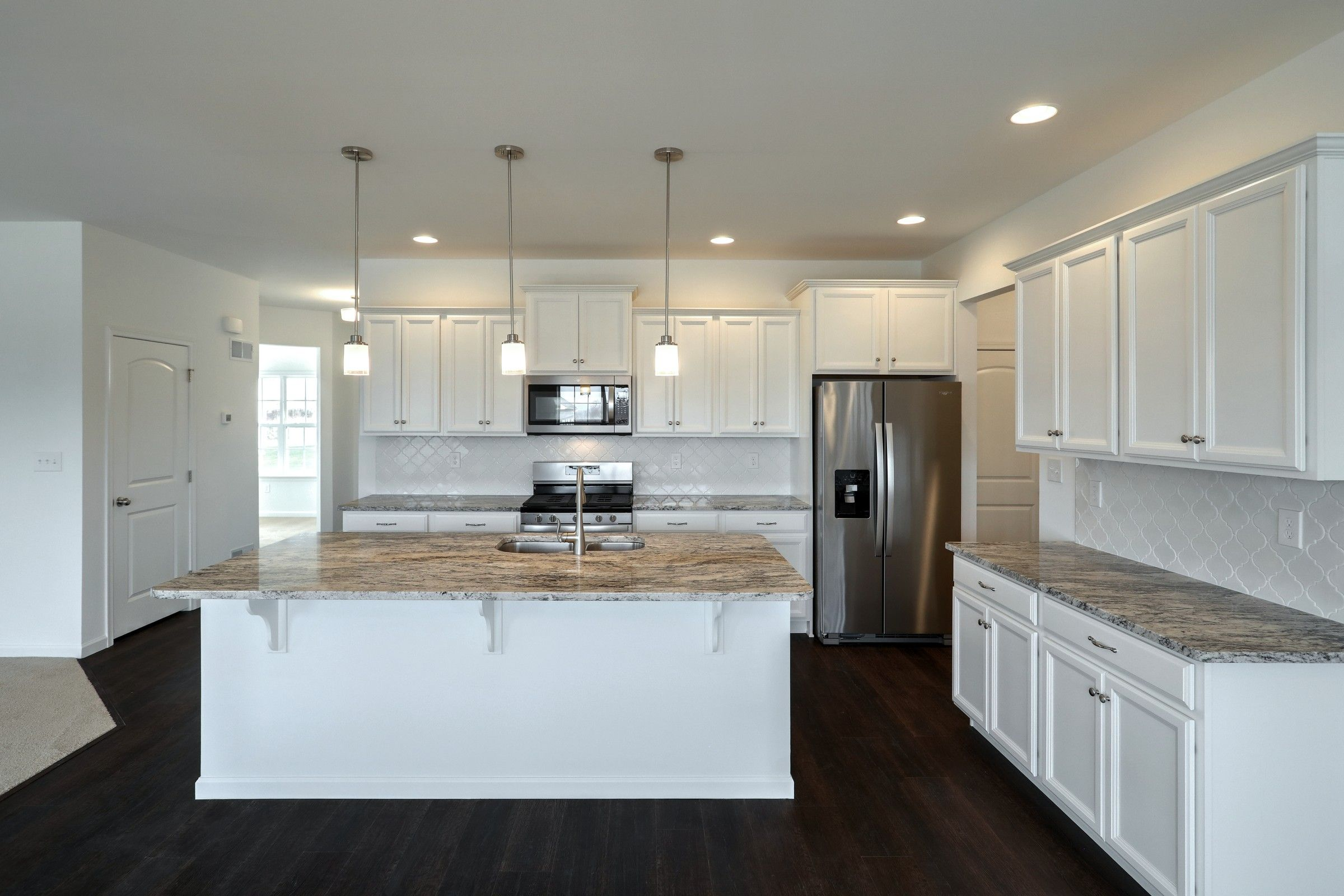 Kitchen featured in the Lachlan Vintage By Keystone Custom Homes in Wilmington-Newark, MD