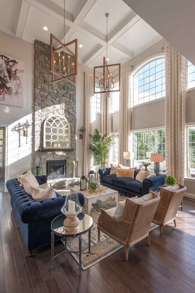 Living Area featured in the Devonshire Manor By Keystone Custom Homes in Washington, MD