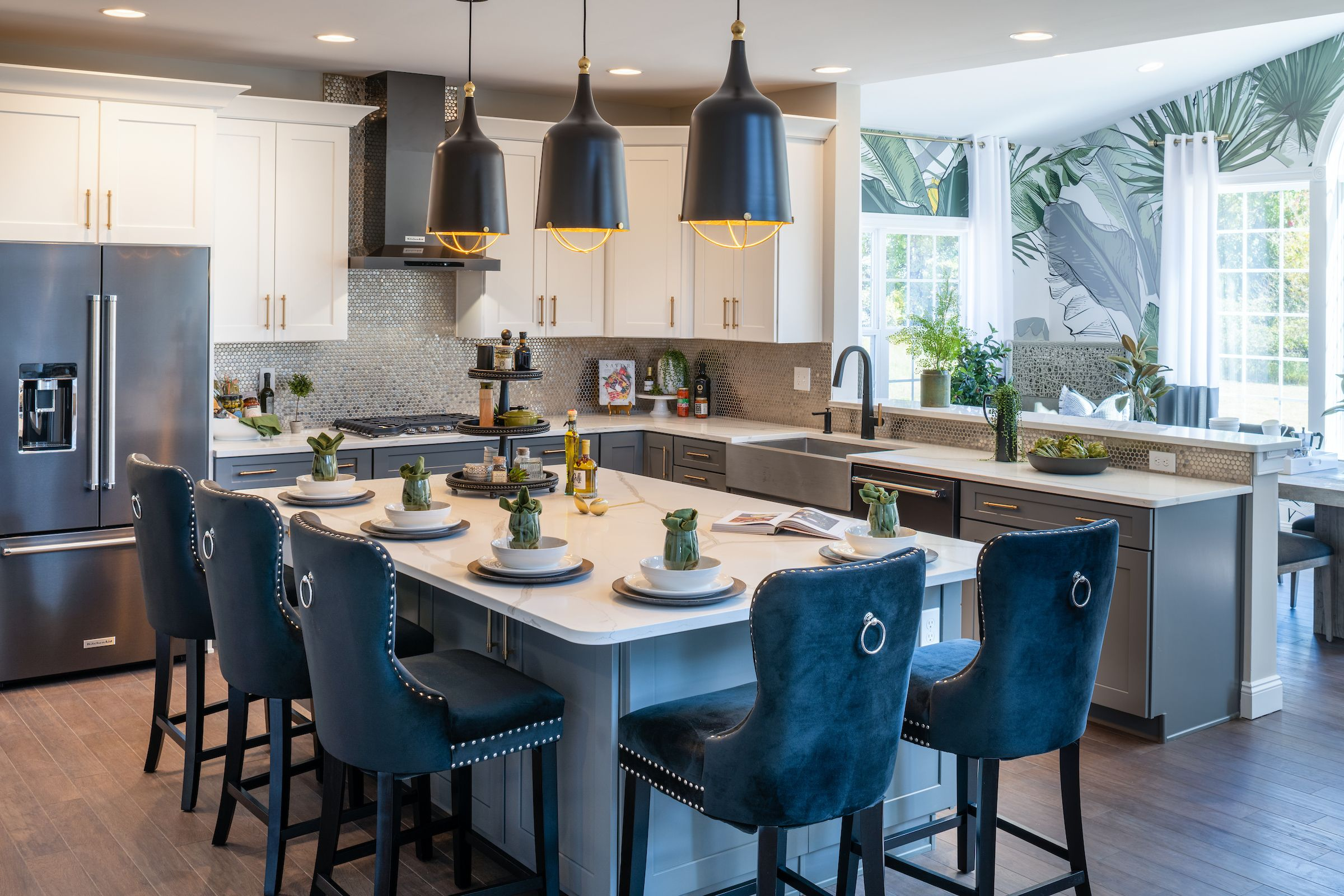 Kitchen featured in the Hawthorne Traditional By Keystone Custom Homes in Lancaster, PA