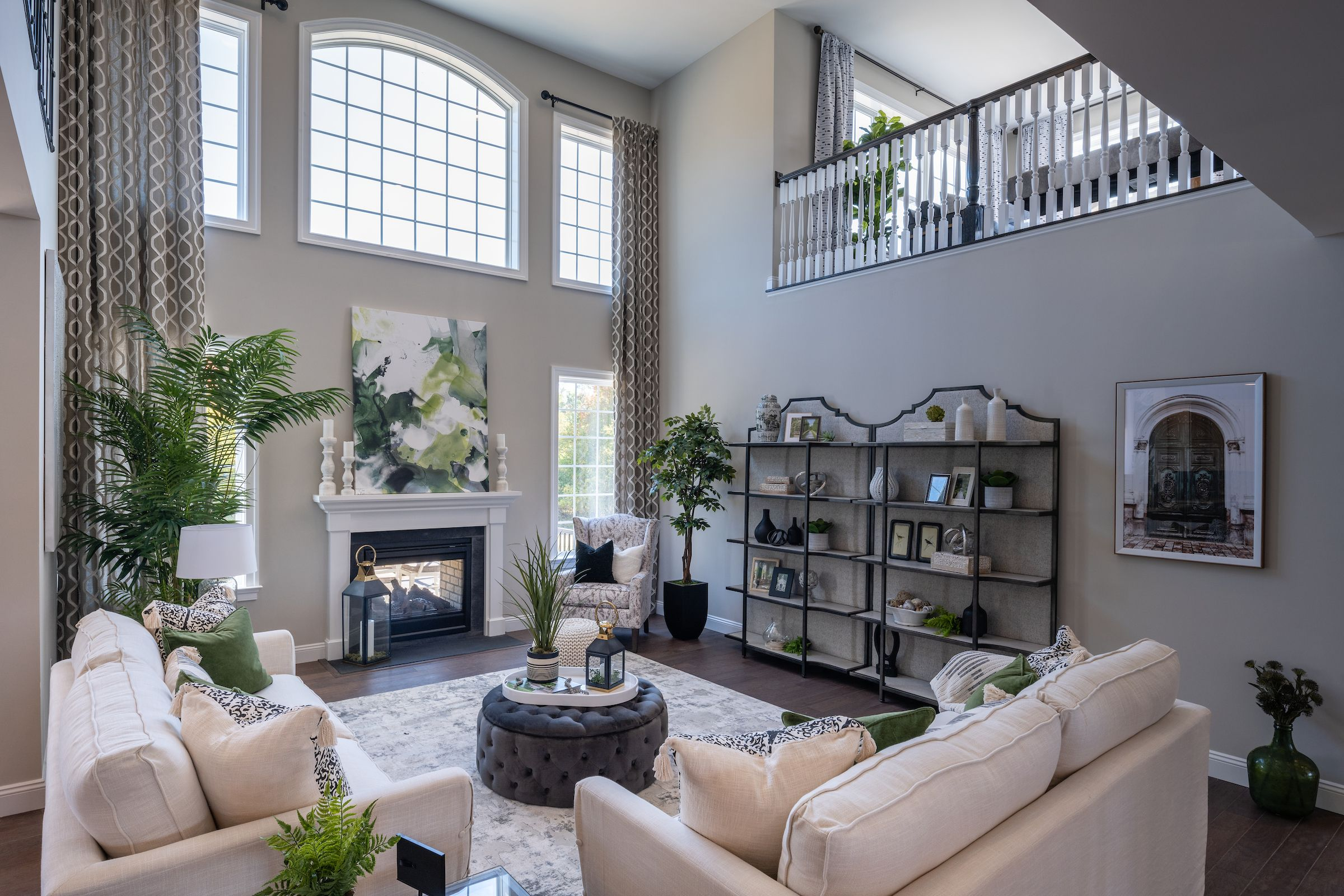 Living Area featured in the Hawthorne Farmhouse By Keystone Custom Homes in Wilmington-Newark, MD