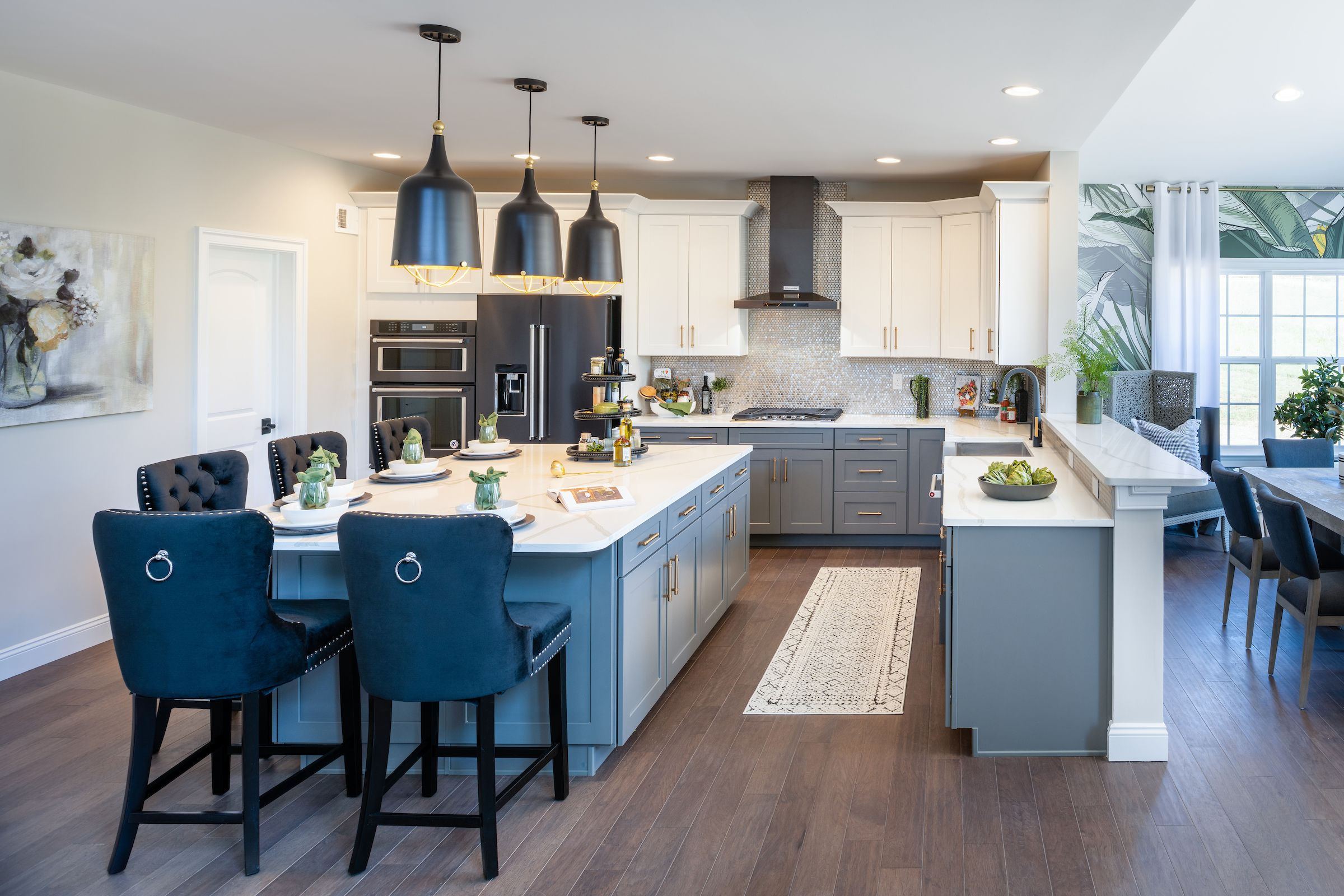 Kitchen featured in the Hawthorne Vintage By Keystone Custom Homes in Baltimore, MD