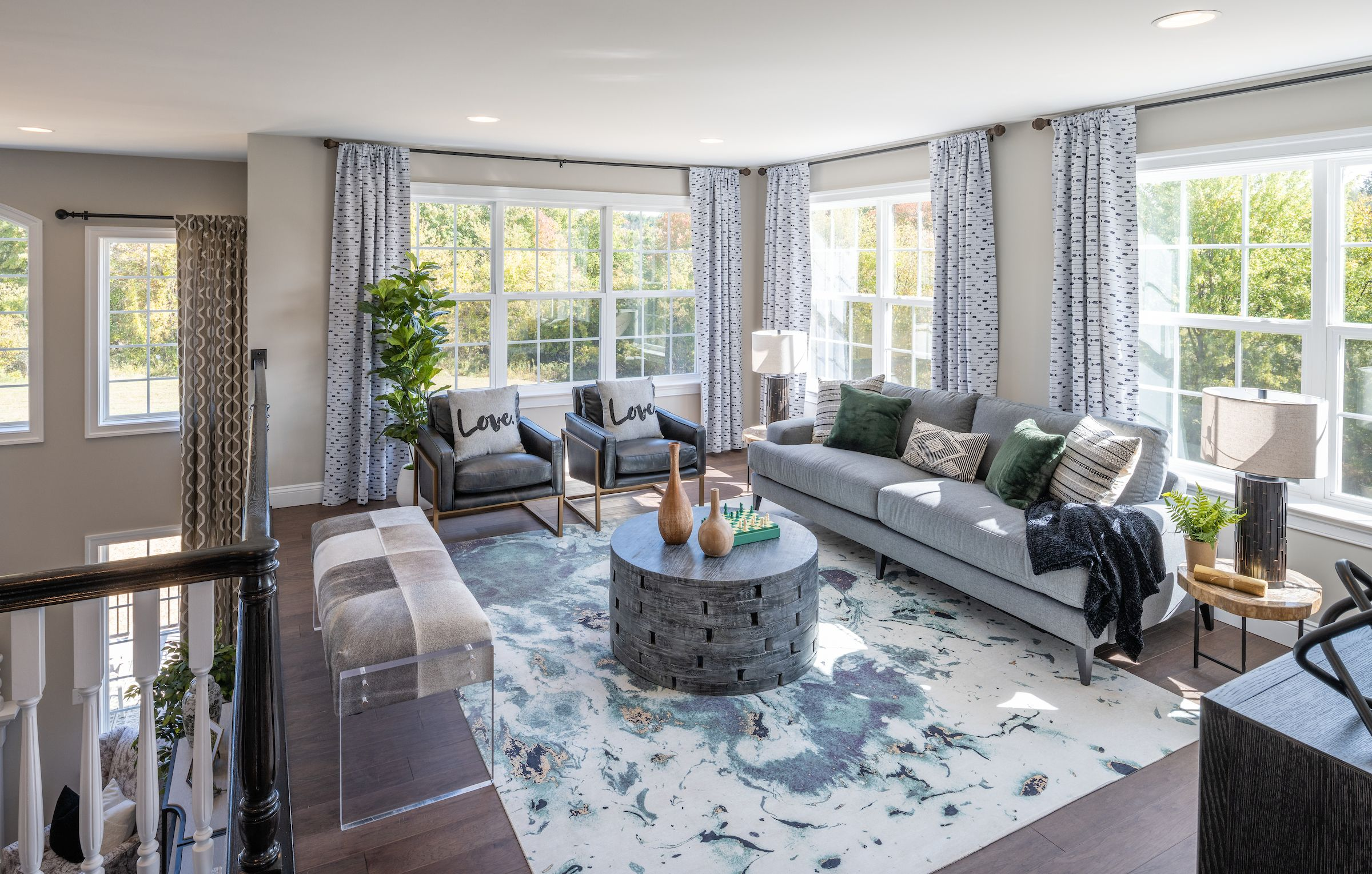 Living Area featured in the Hawthorne Vintage By Keystone Custom Homes in Lancaster, PA