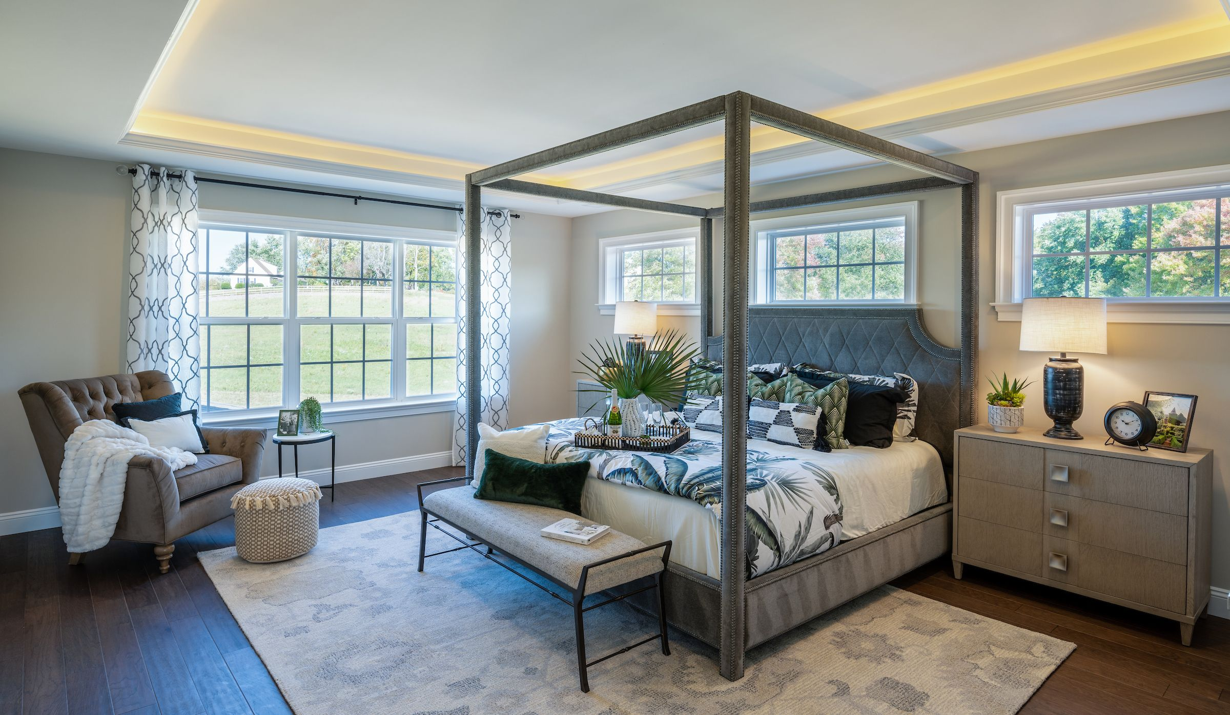 Bedroom featured in the Hawthorne Manor By Keystone Custom Homes in Baltimore, MD
