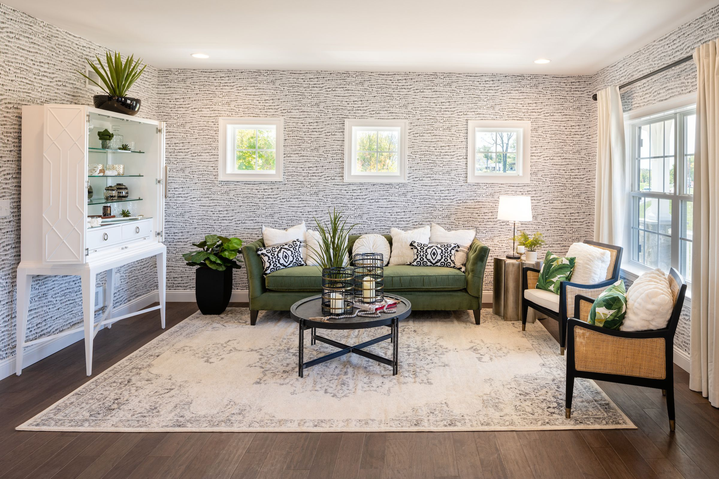 Living Area featured in the Hawthorne Manor By Keystone Custom Homes in Washington, MD