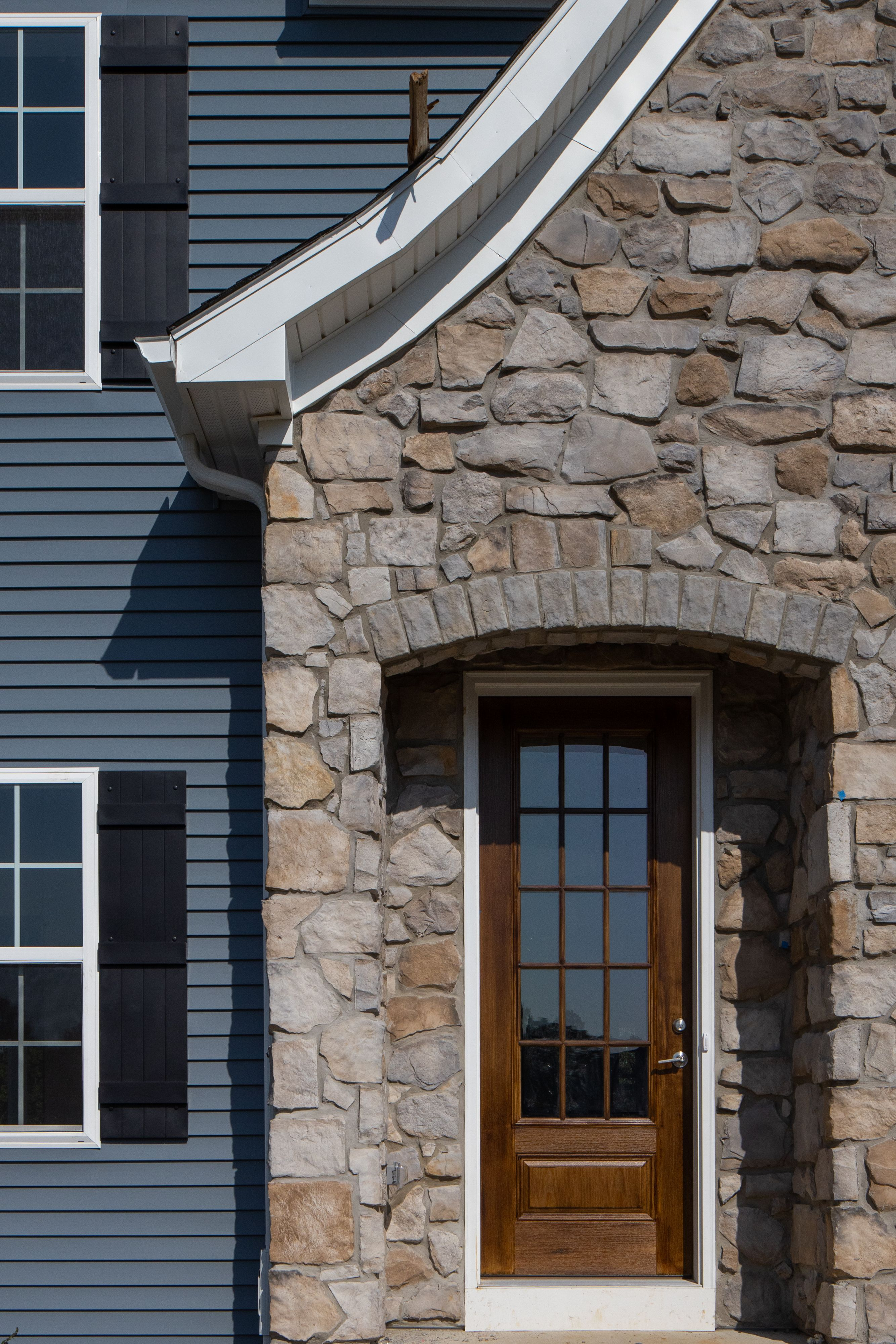 Exterior featured in the Hawthorne Vintage By Keystone Custom Homes in Harrisburg, PA