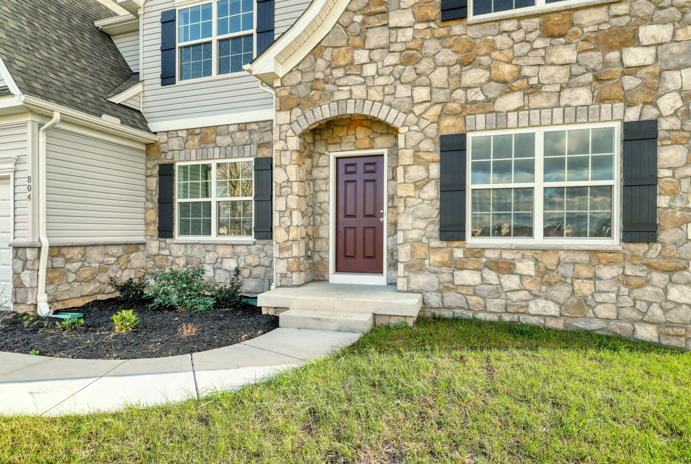 Exterior featured in the Hawthorne Traditional By Keystone Custom Homes in Washington, MD