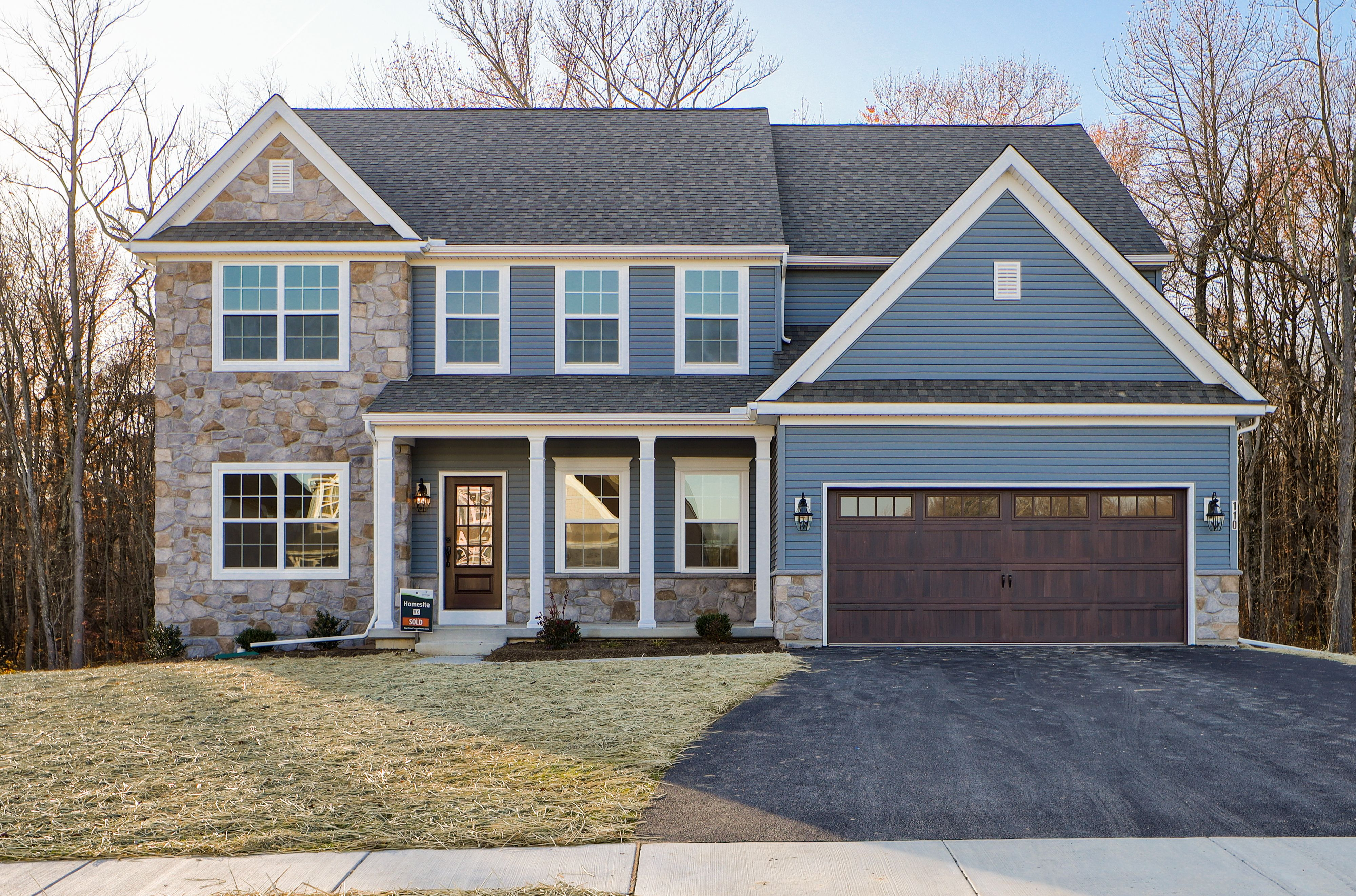 Exterior featured in the Hawthorne Farmhouse By Keystone Custom Homes in Baltimore, MD