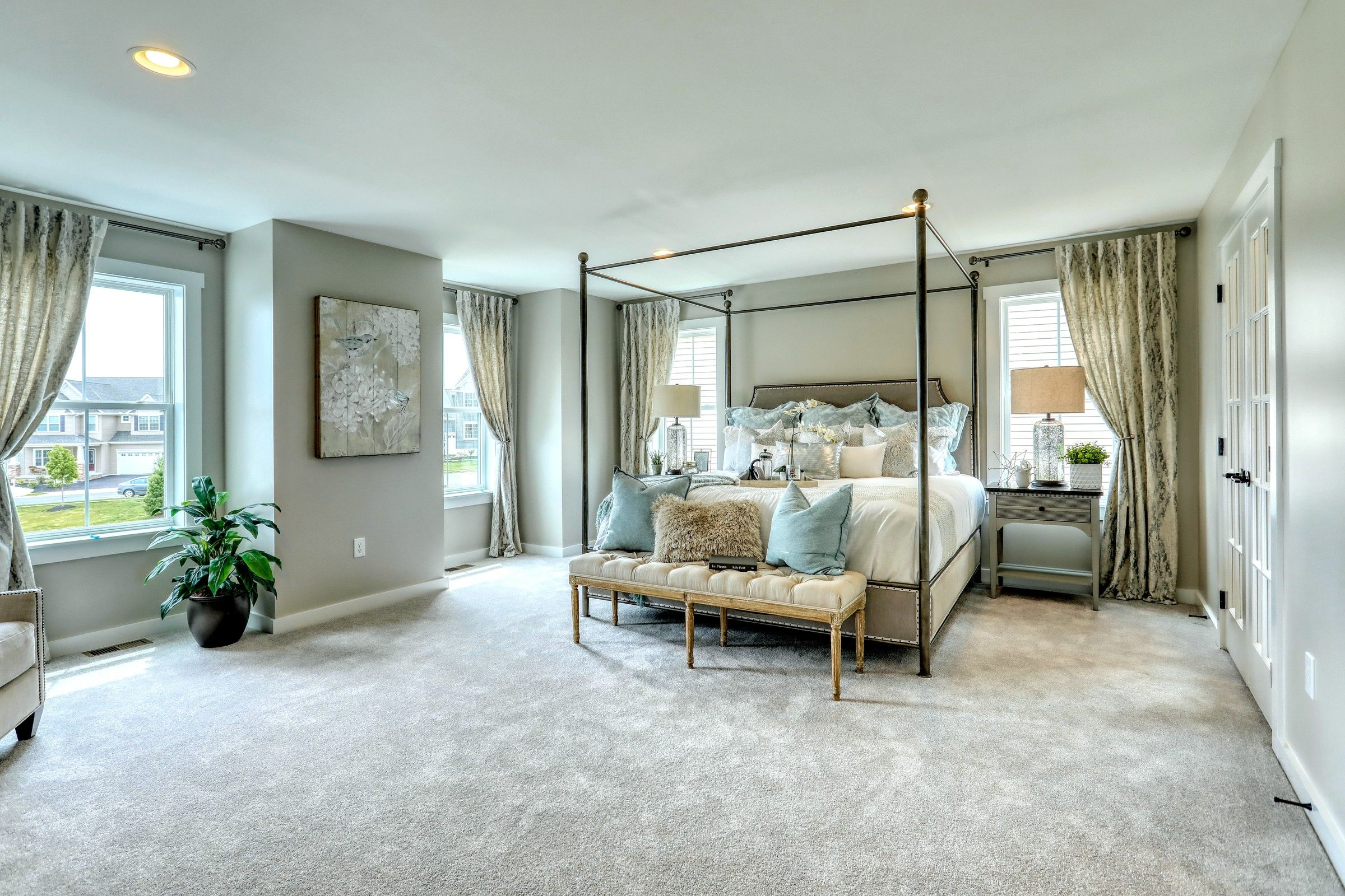 Bedroom featured in the Manchester Traditional By Keystone Custom Homes in Harrisburg, PA
