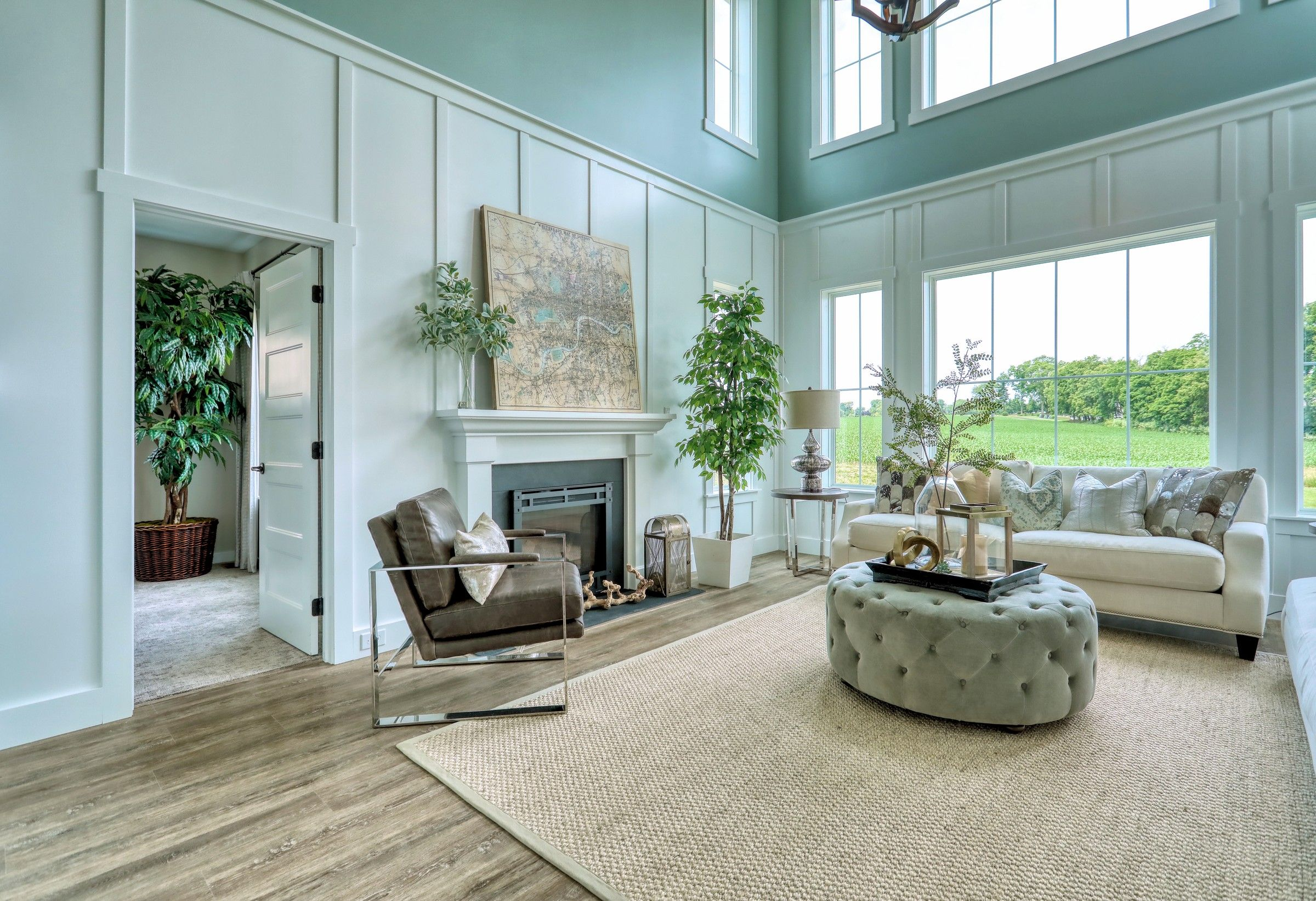 Living Area featured in the Manchester English Cottage By Keystone Custom Homes in Lancaster, PA