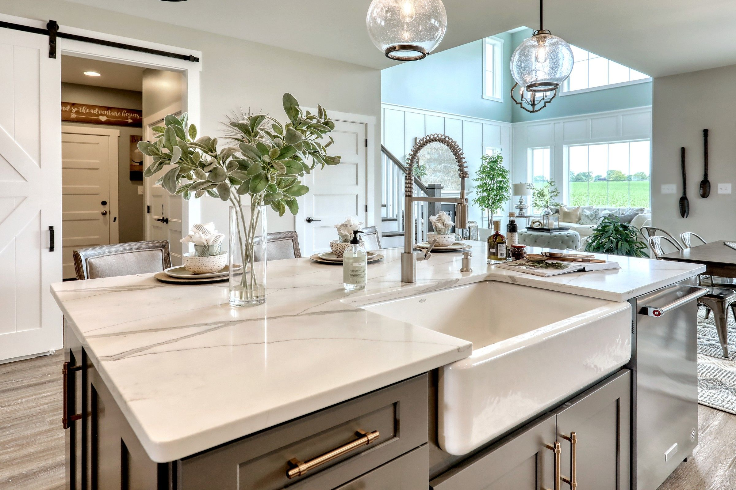 Kitchen featured in the Manchester Heritage By Keystone Custom Homes in Washington, MD