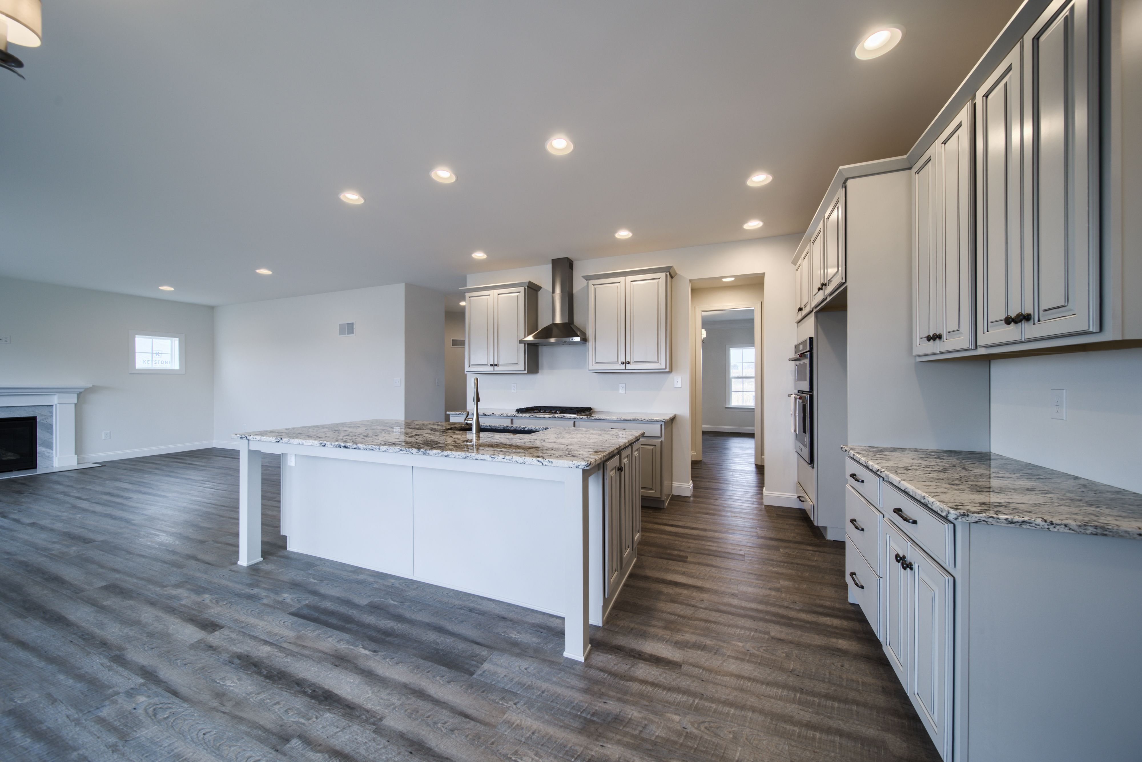Kitchen featured in the Oxford Farmhouse By Keystone Custom Homes in Harrisburg, PA