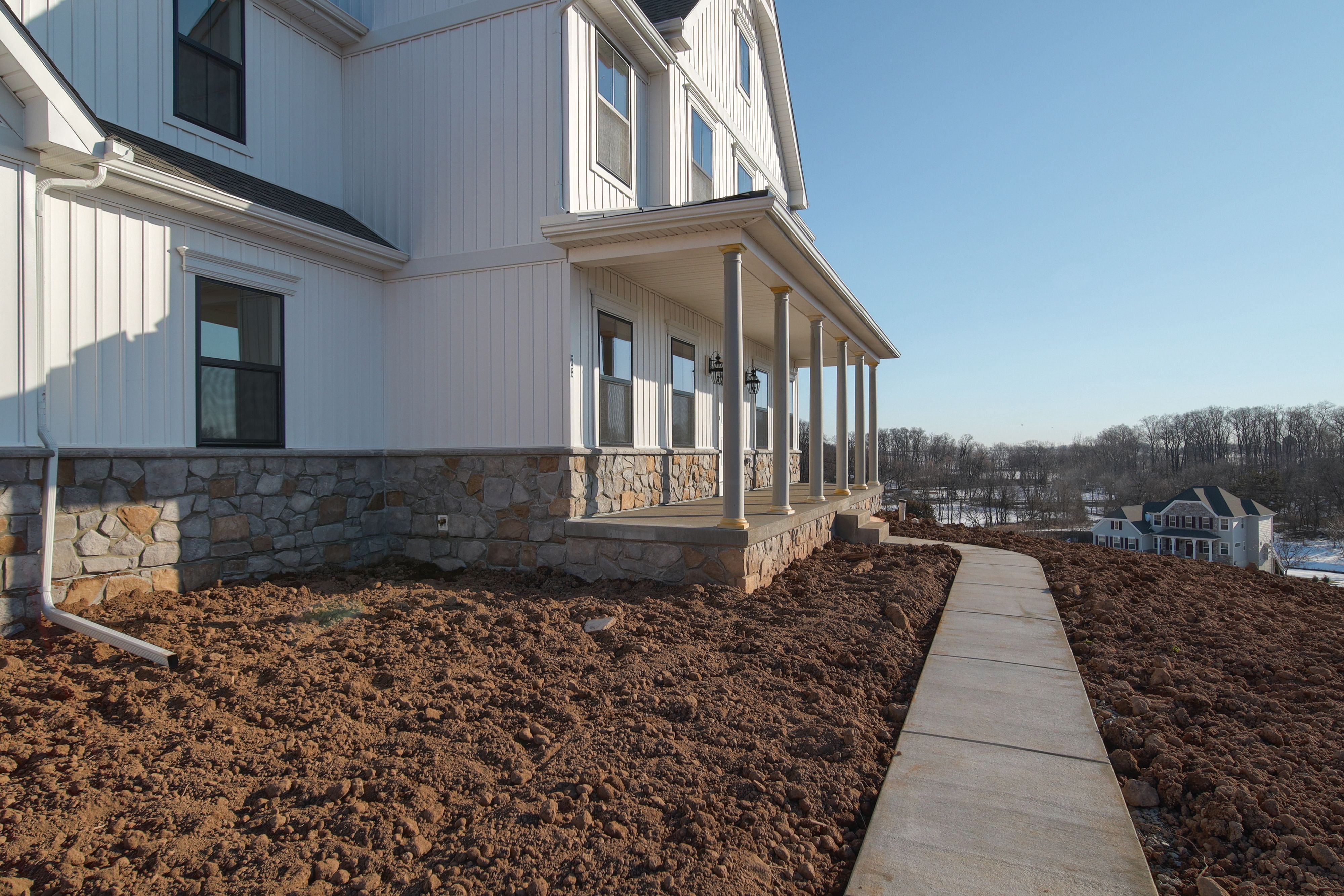 Exterior featured in the Oxford Farmhouse By Keystone Custom Homes in Harrisburg, PA