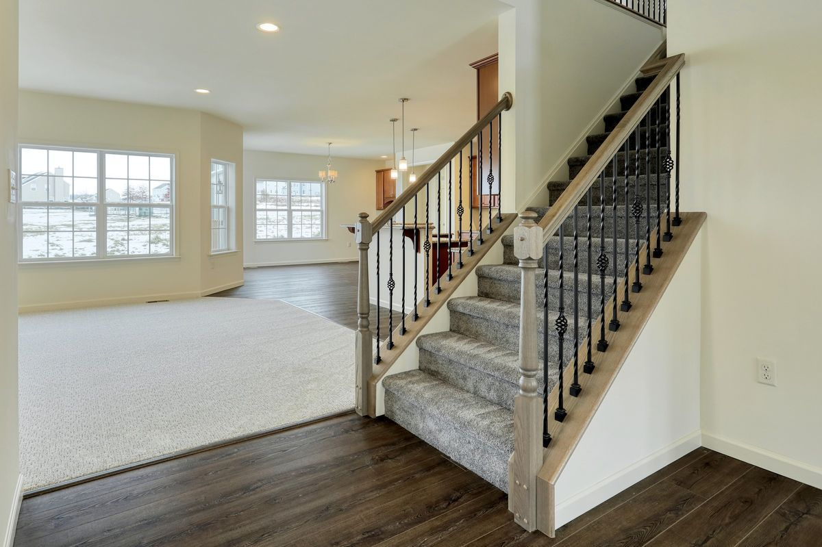 Living Area featured in the Lexington Vintage By Keystone Custom Homes in Baltimore, MD