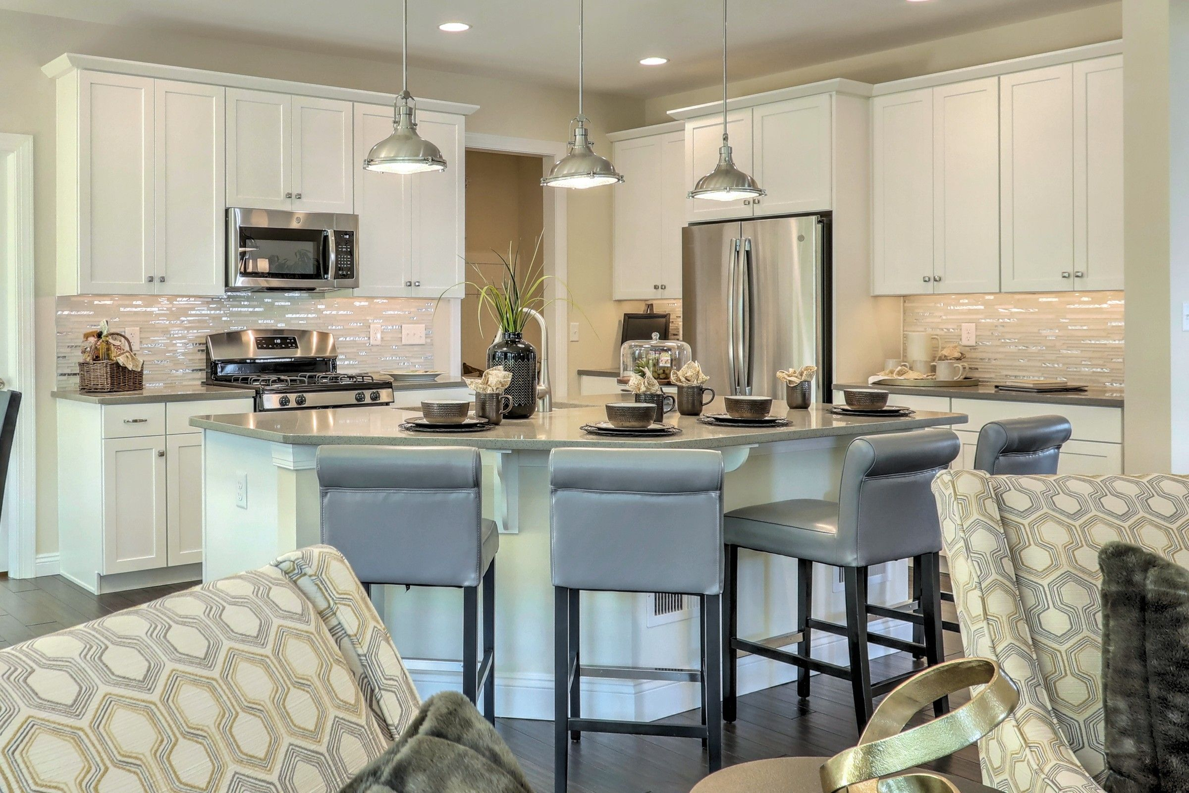 Kitchen featured in the Covington Heritage By Keystone Custom Homes in Baltimore, MD