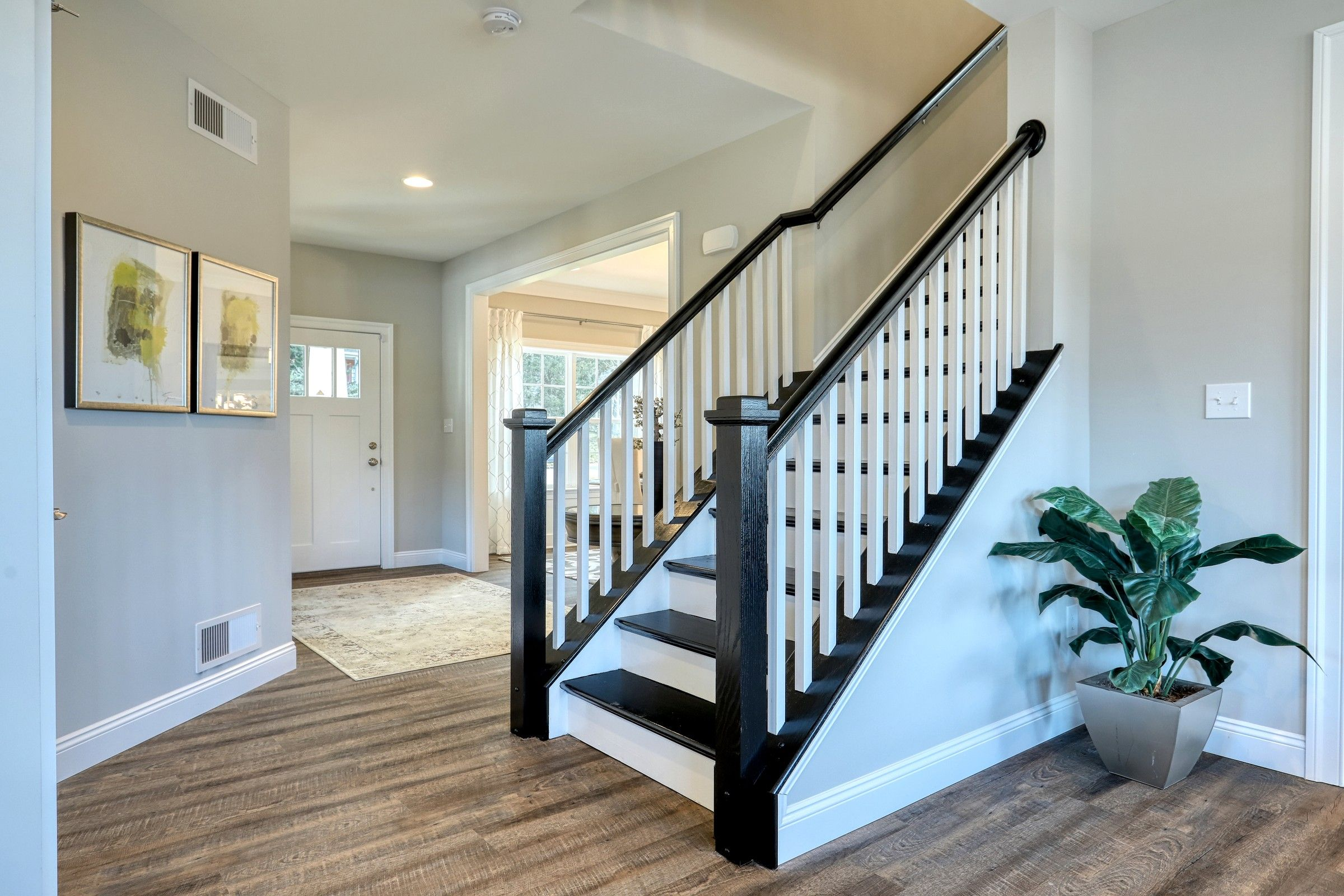 Living Area featured in the Parker Bordeaux By Keystone Custom Homes in Philadelphia, PA