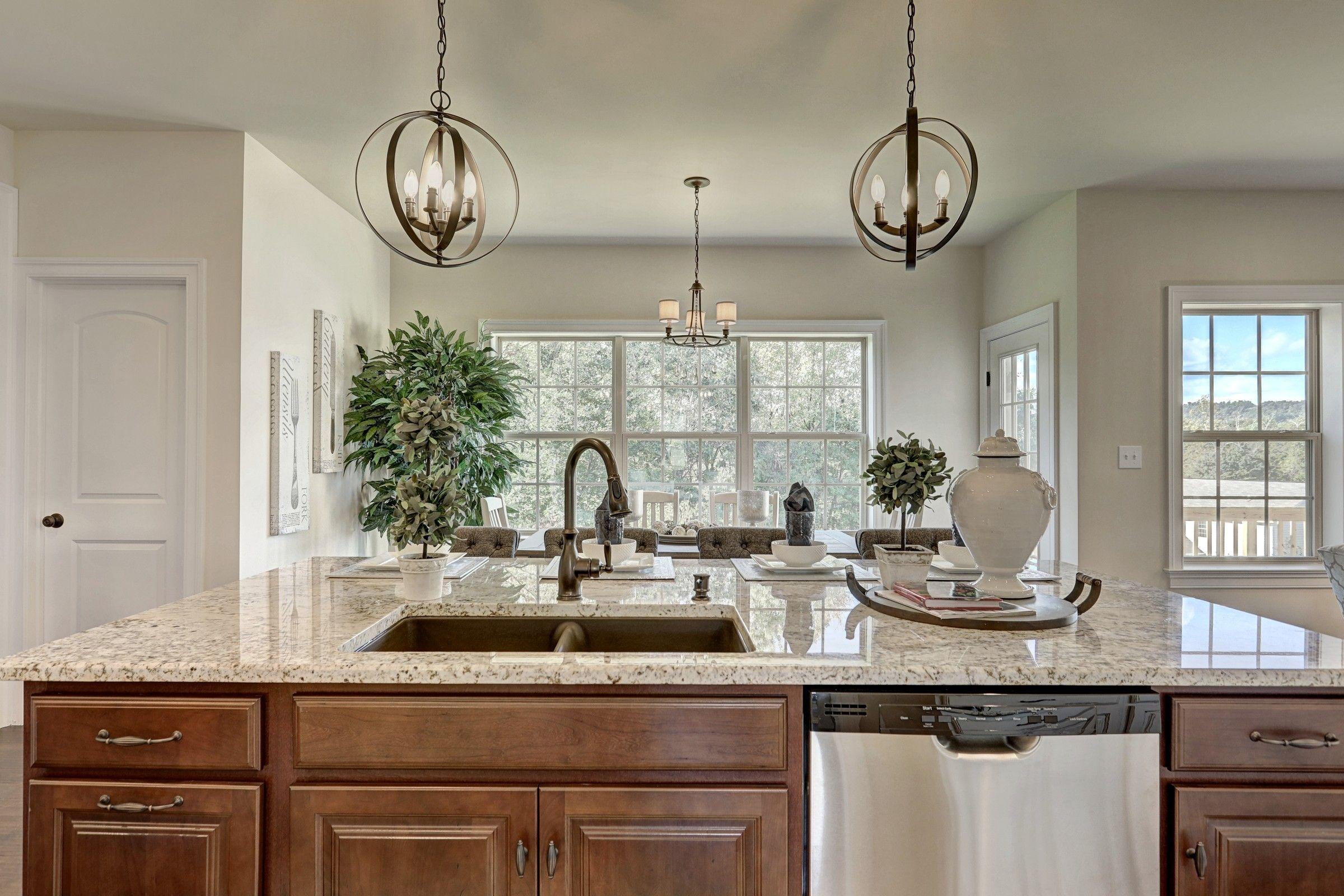 Kitchen featured in the Parker Bordeaux By Keystone Custom Homes in Philadelphia, PA