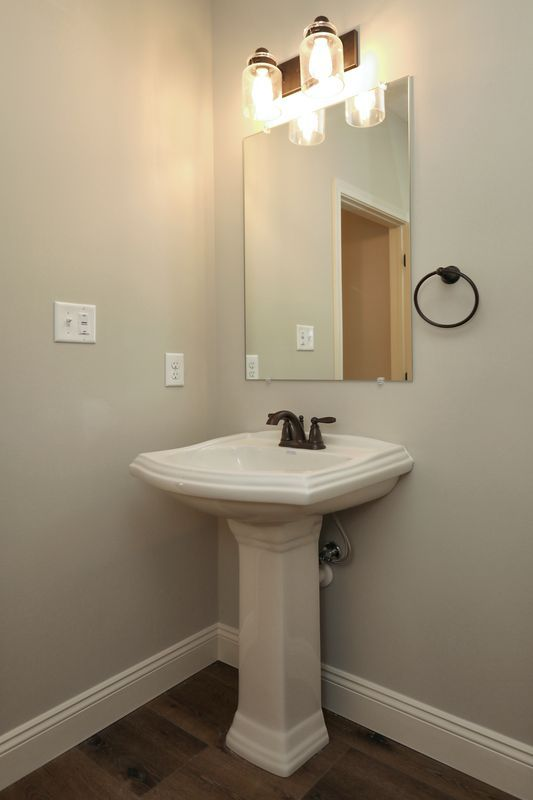 Bathroom featured in the Covington Farmhouse By Keystone Custom Homes in Baltimore, MD