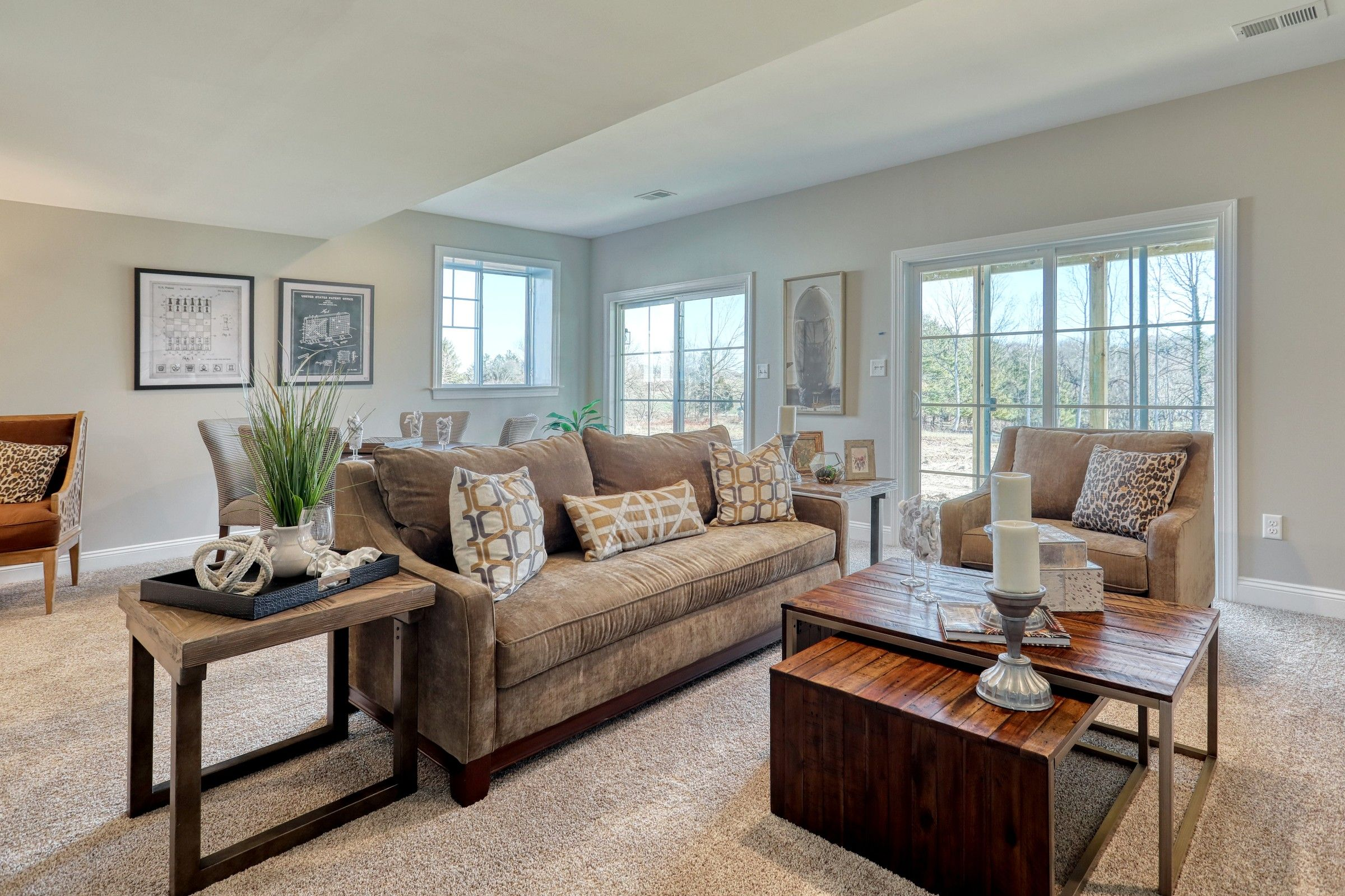 Living Area featured in the Ethan Manor By Keystone Custom Homes in Baltimore, MD