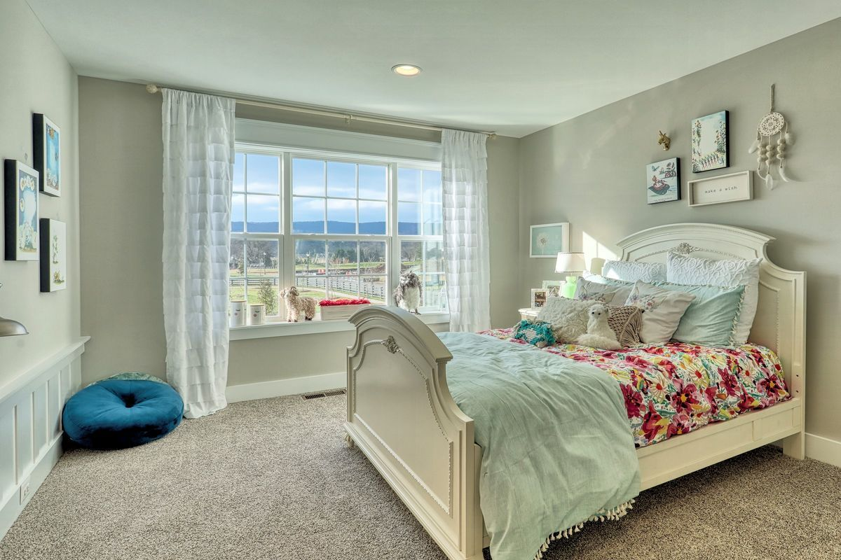 Bedroom featured in the Nottingham Bordeaux By Keystone Custom Homes in Baltimore, MD