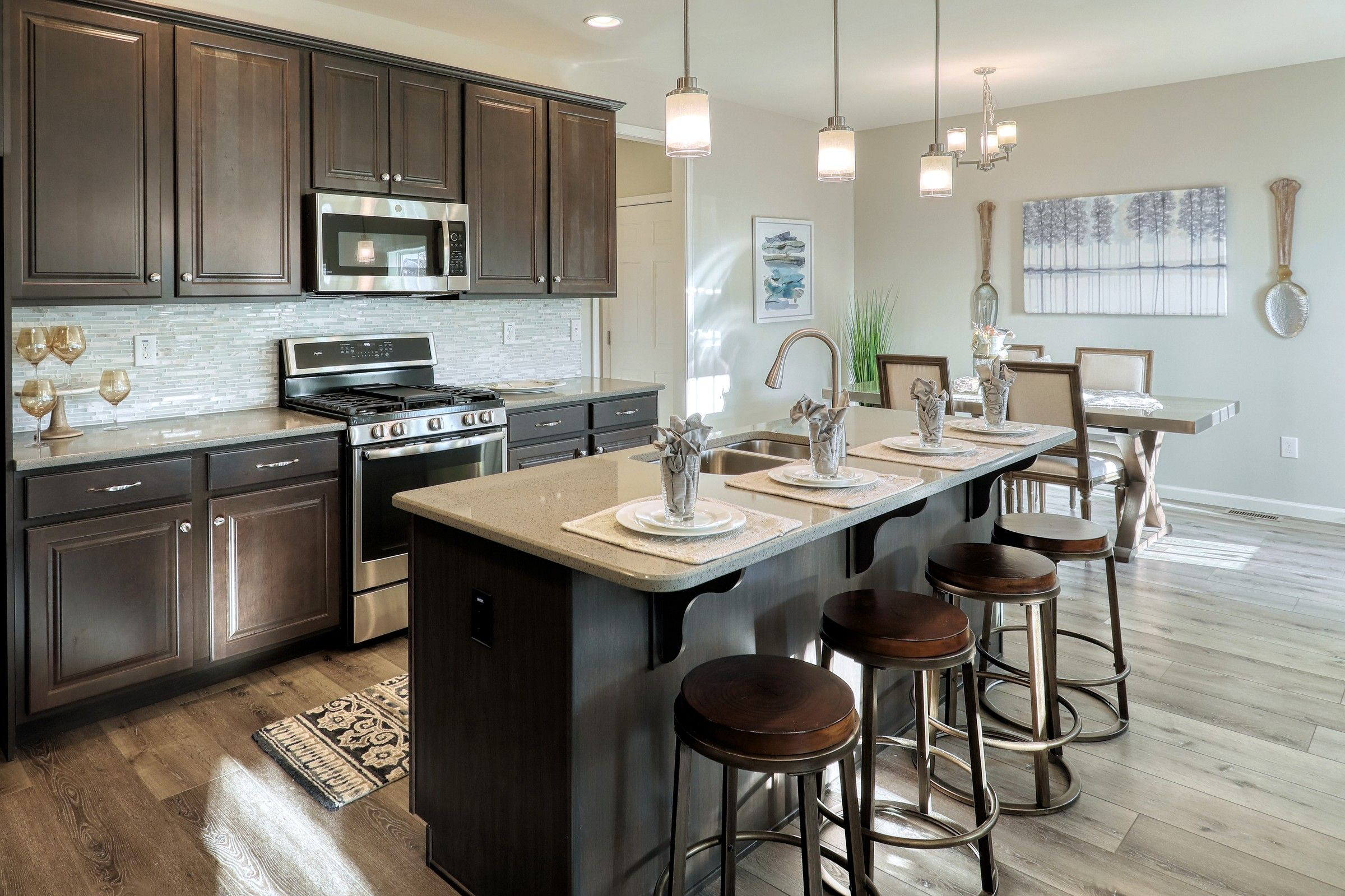 Kitchen featured in the Wyndham Vintage By Keystone Custom Homes in Washington, MD