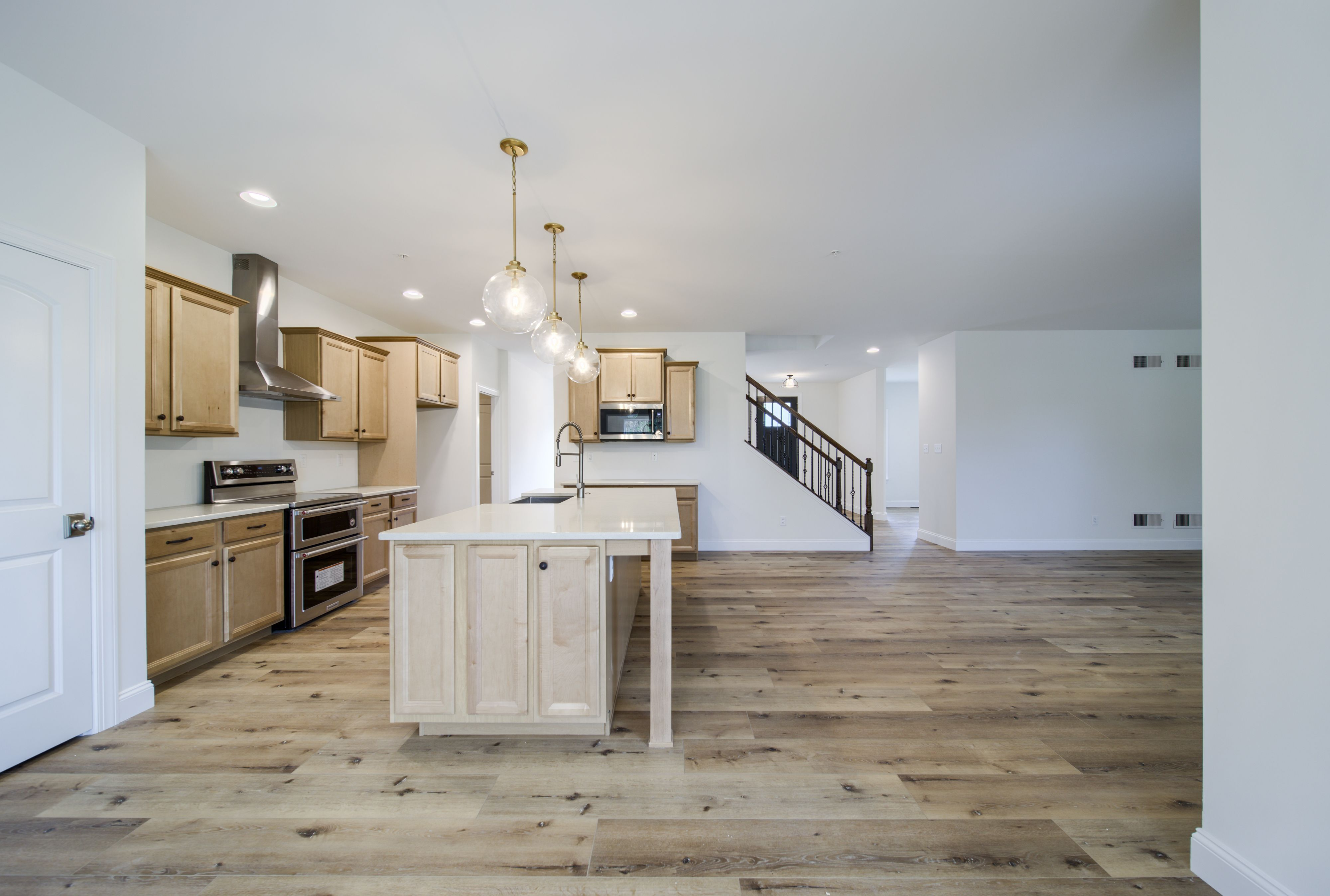Kitchen featured in the Augusta Farmhouse By Keystone Custom Homes in Baltimore, MD