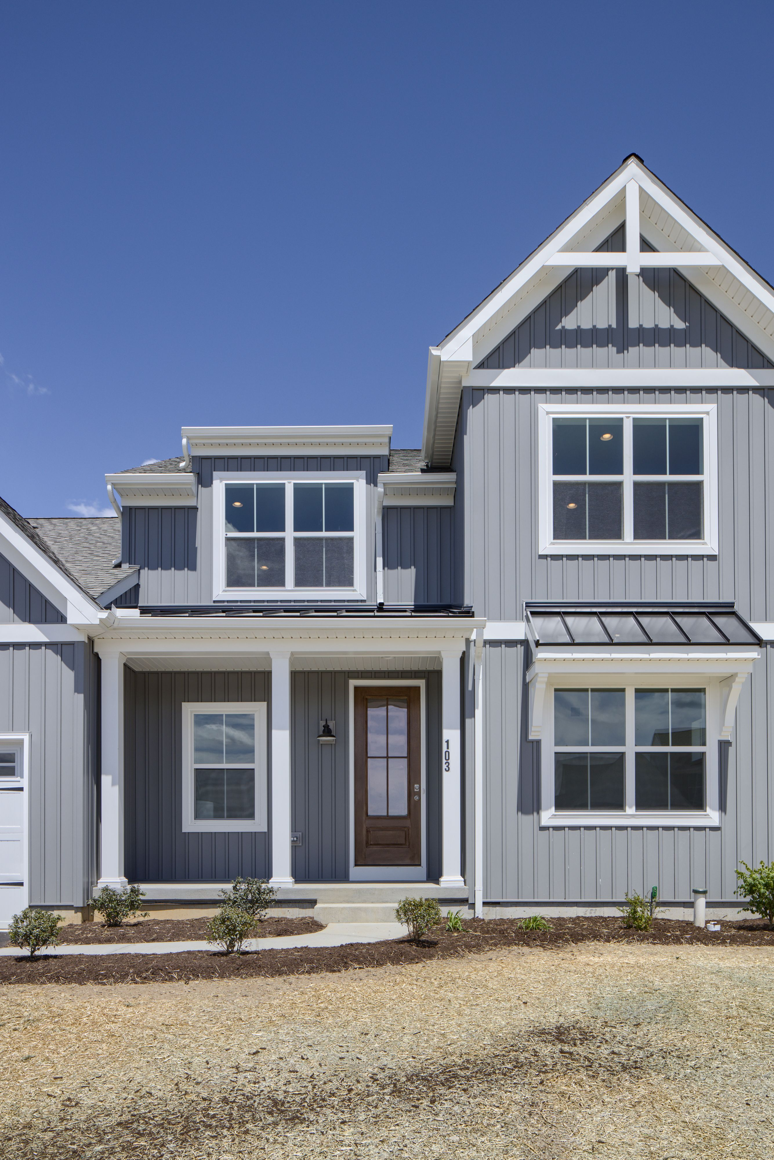 Exterior featured in the Sycamore Farmhouse By Keystone Custom Homes in Philadelphia, PA