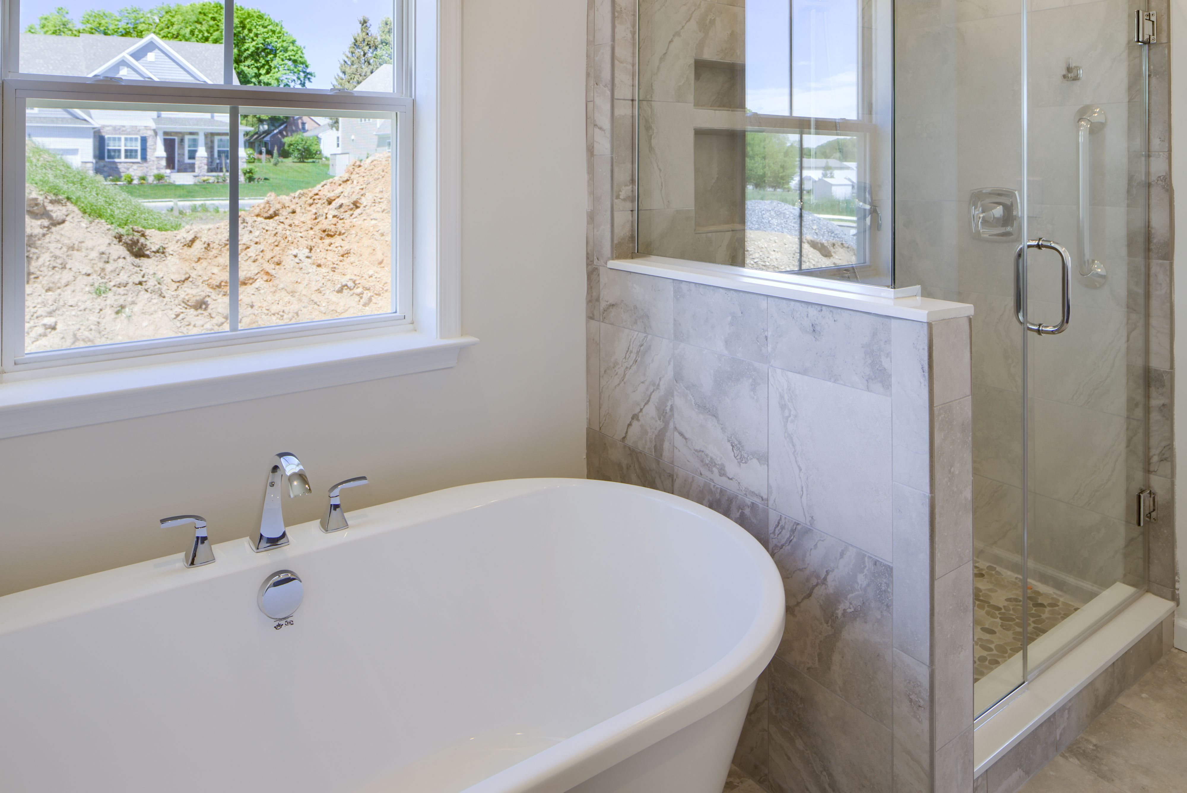 Bathroom featured in the Sycamore Traditional By Keystone Custom Homes in Philadelphia, PA