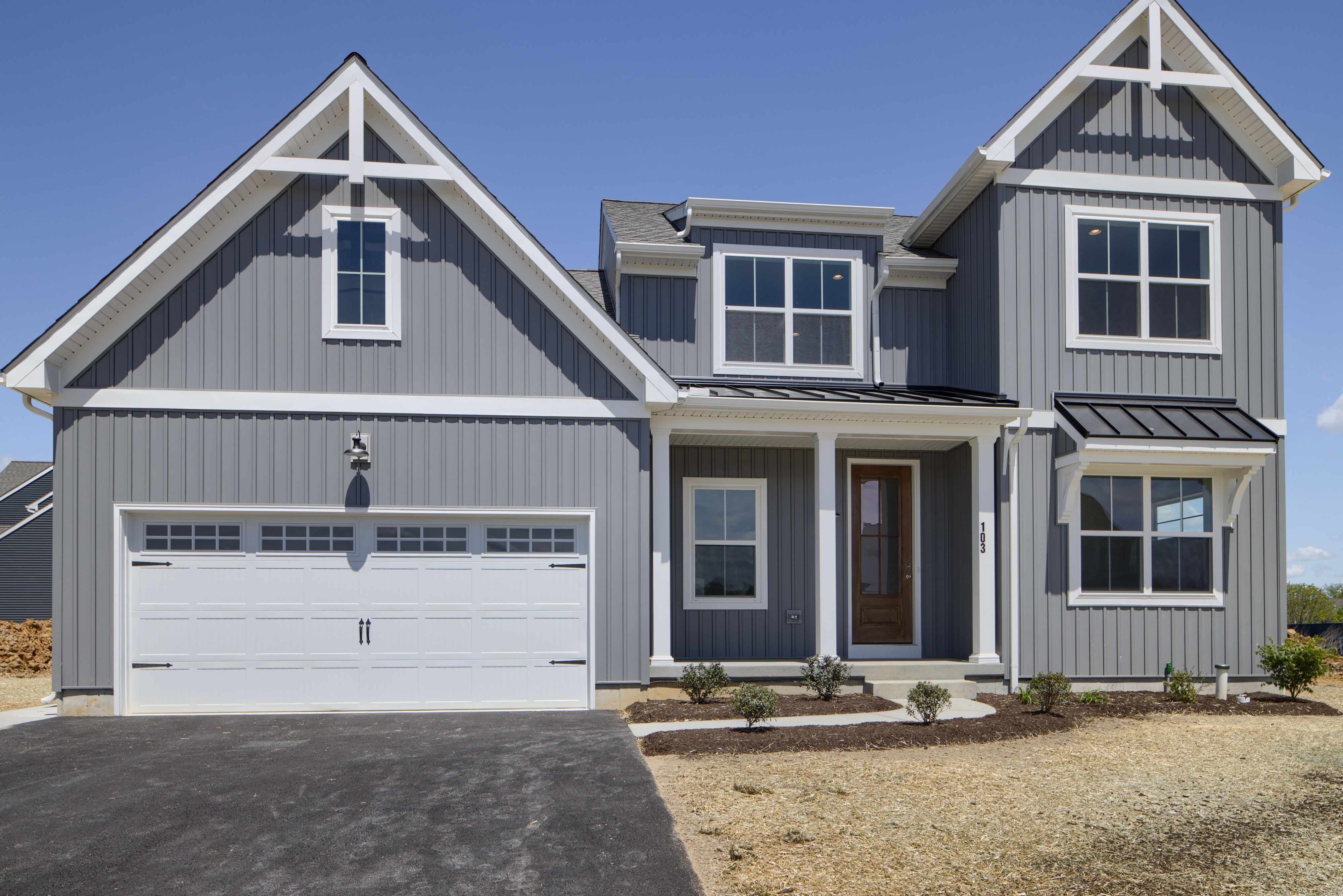 Exterior featured in the Sycamore Traditional By Keystone Custom Homes in Philadelphia, PA