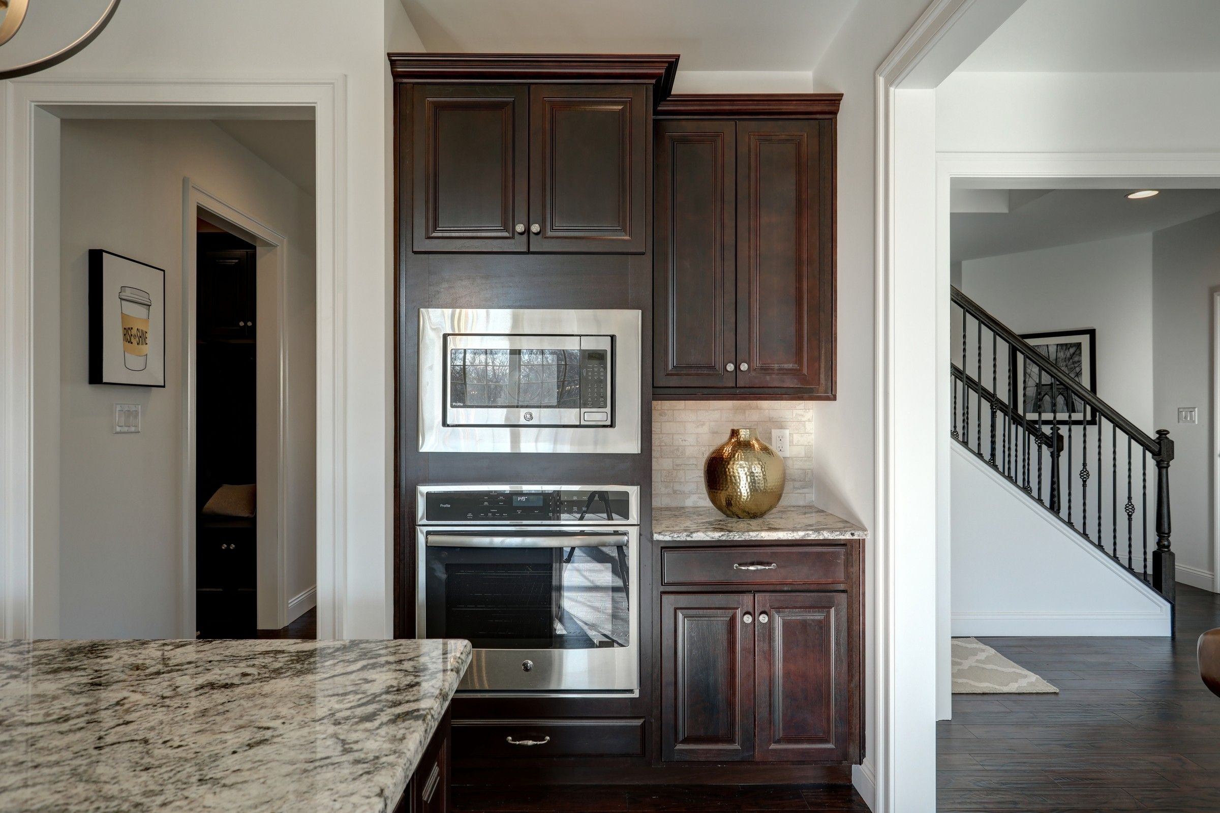 Kitchen featured in the Ethan English Cottage By Keystone Custom Homes in Washington, MD