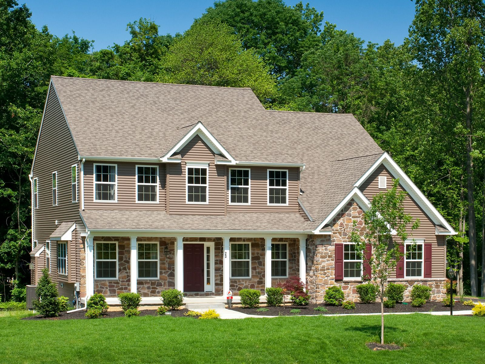 Exterior featured in the Ethan Manor By Keystone Custom Homes in Baltimore, MD