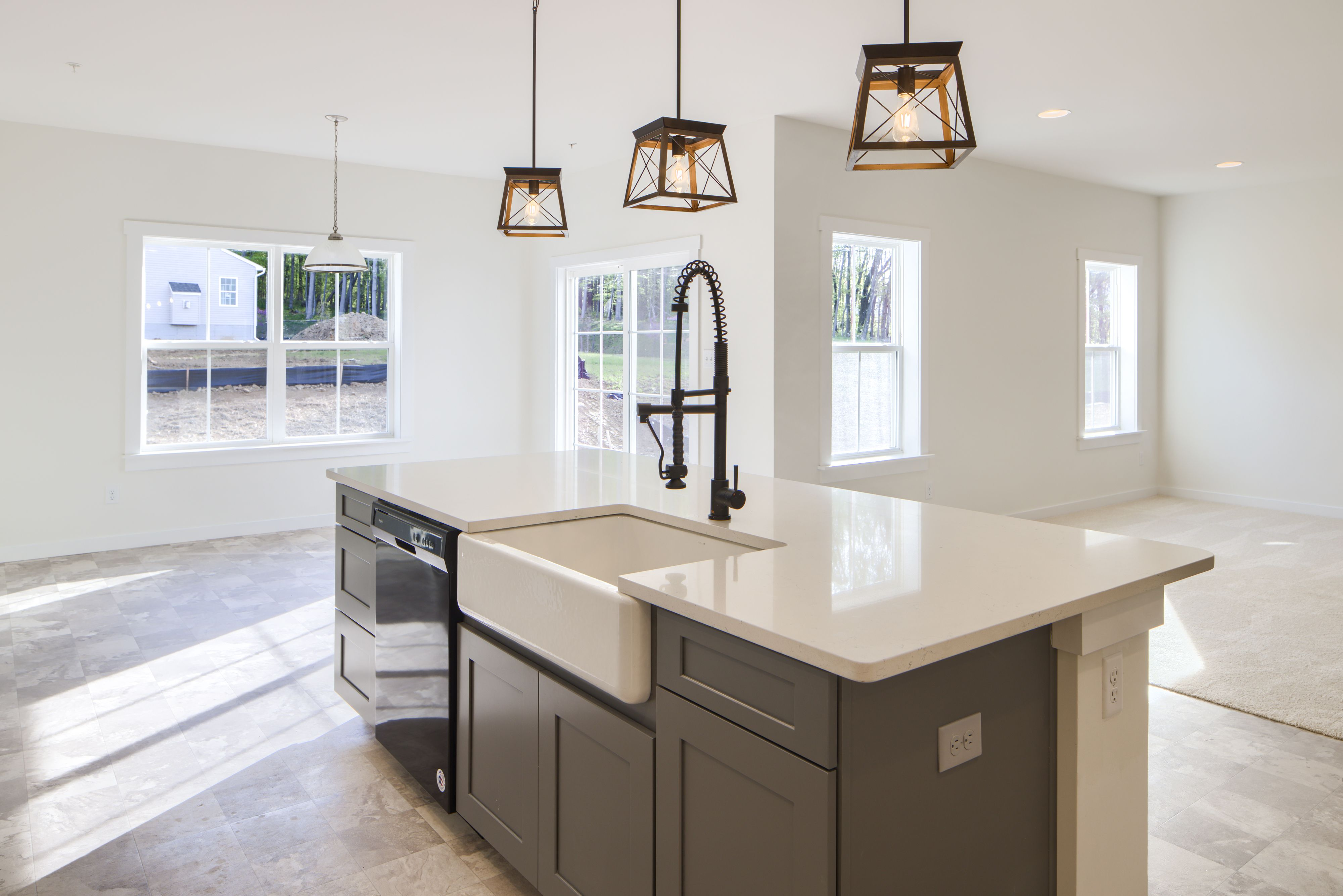 Kitchen featured in the Augusta Normandy By Keystone Custom Homes in Washington, MD