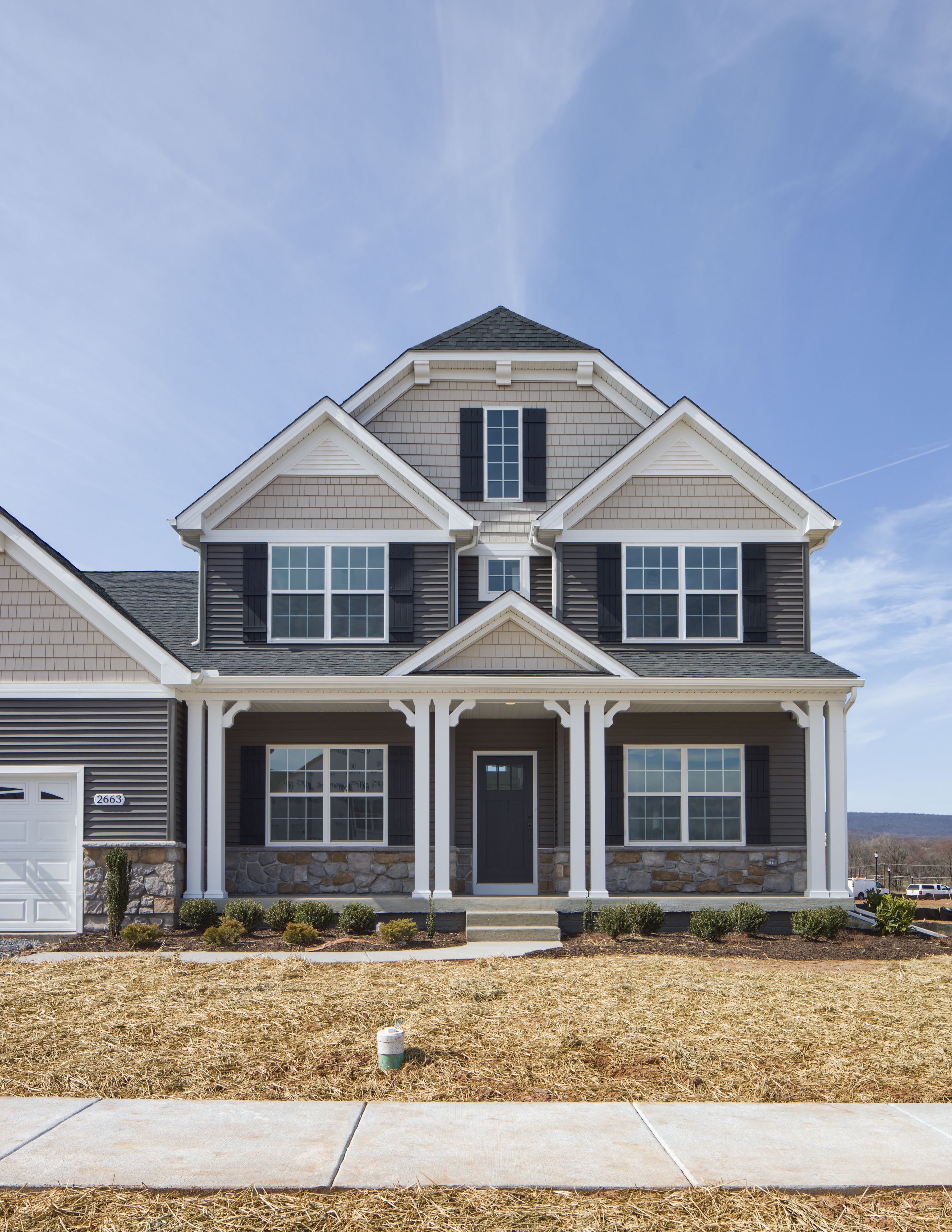 Exterior featured in the Nottingham Farmhouse By Keystone Custom Homes in Baltimore, MD