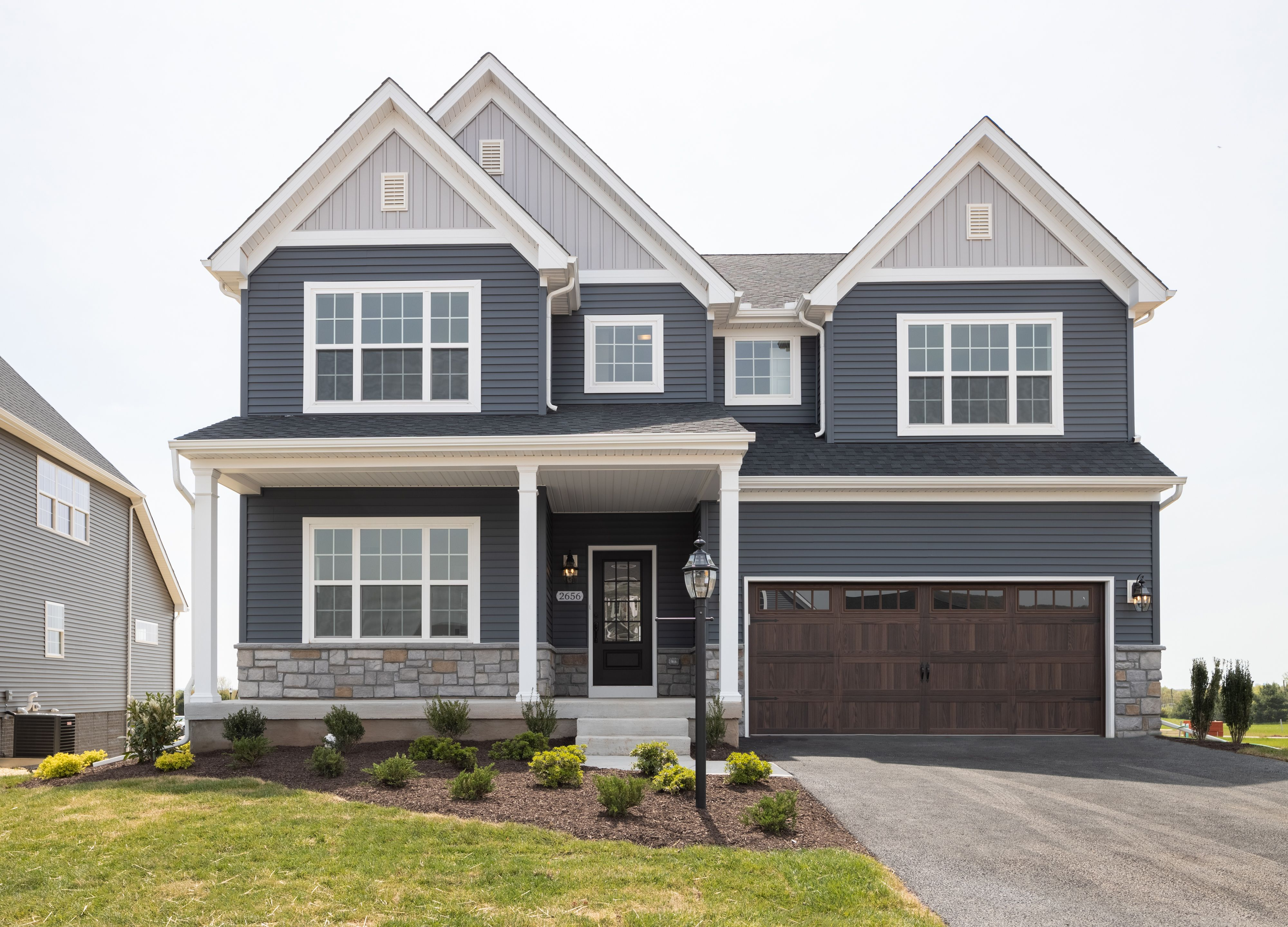 Exterior featured in the Covington Heritage By Keystone Custom Homes in Baltimore, MD