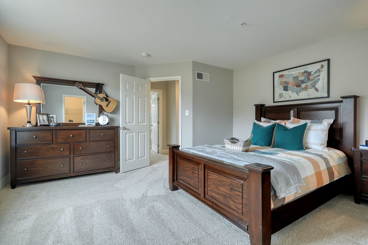 Bedroom featured in the Covington Vintage By Keystone Custom Homes in Baltimore, MD