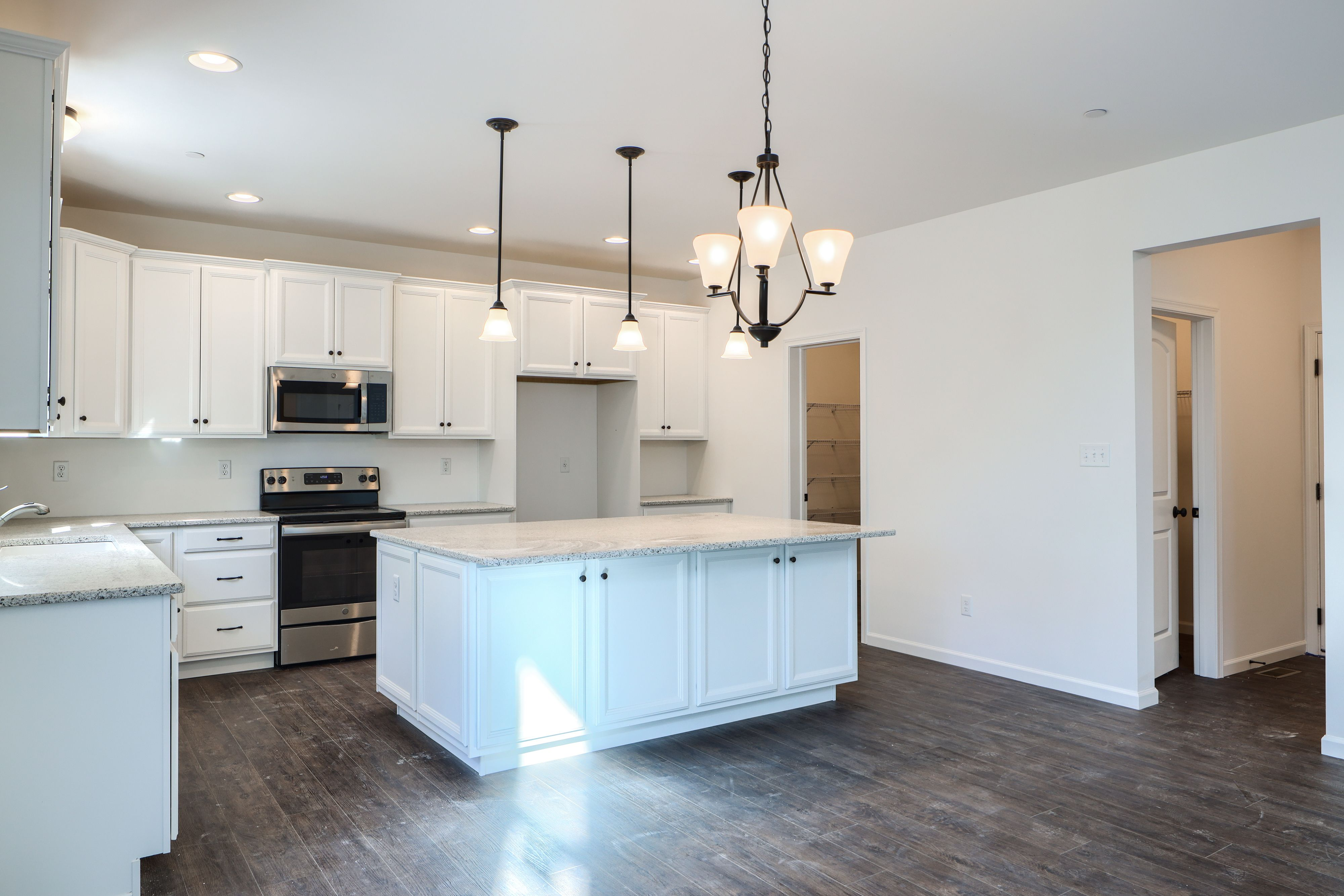 Kitchen featured in the Hawthorne Farmhouse By Keystone Custom Homes in Lancaster, PA