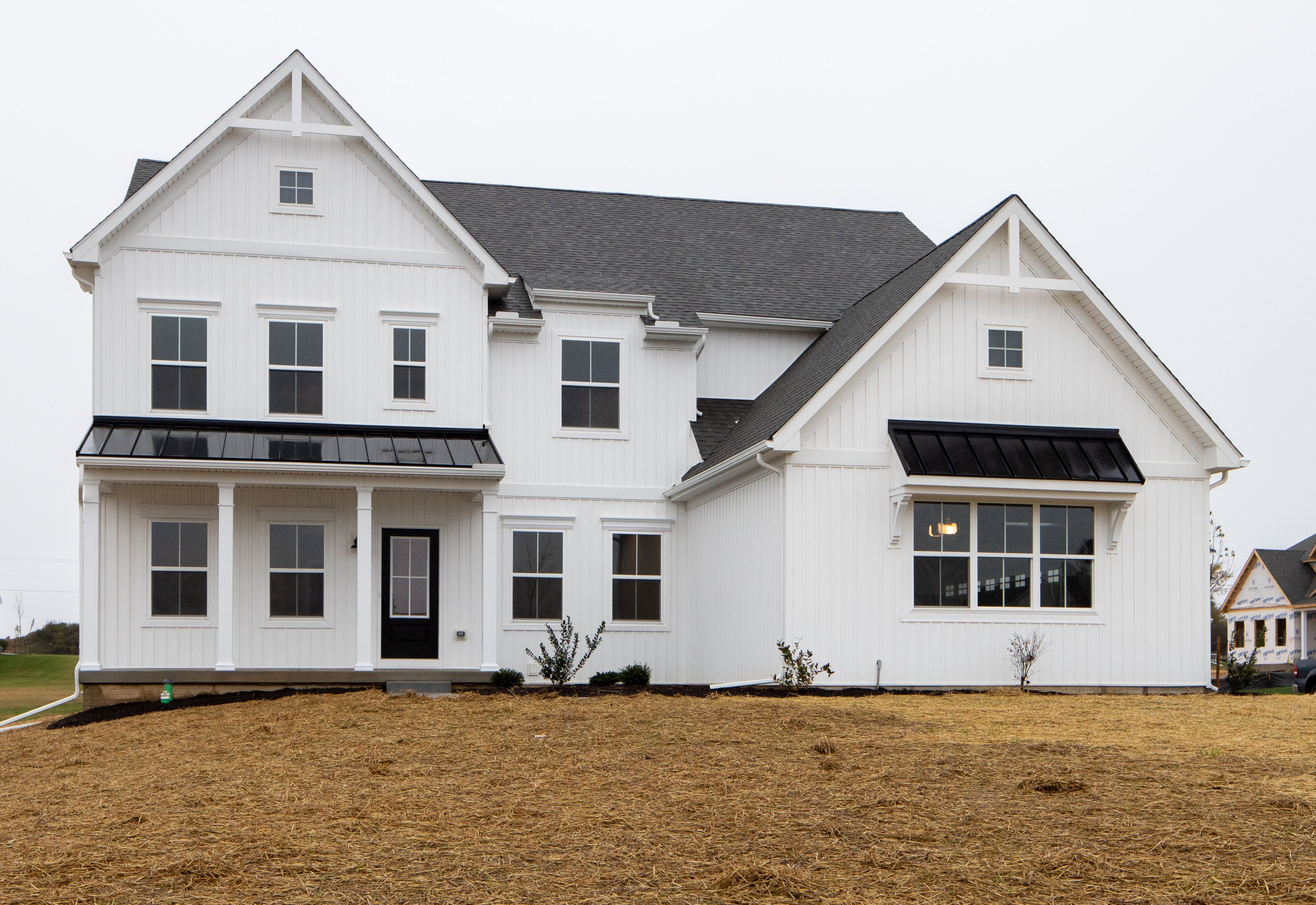 Exterior featured in the Hawthorne Manor By Keystone Custom Homes in Baltimore, MD