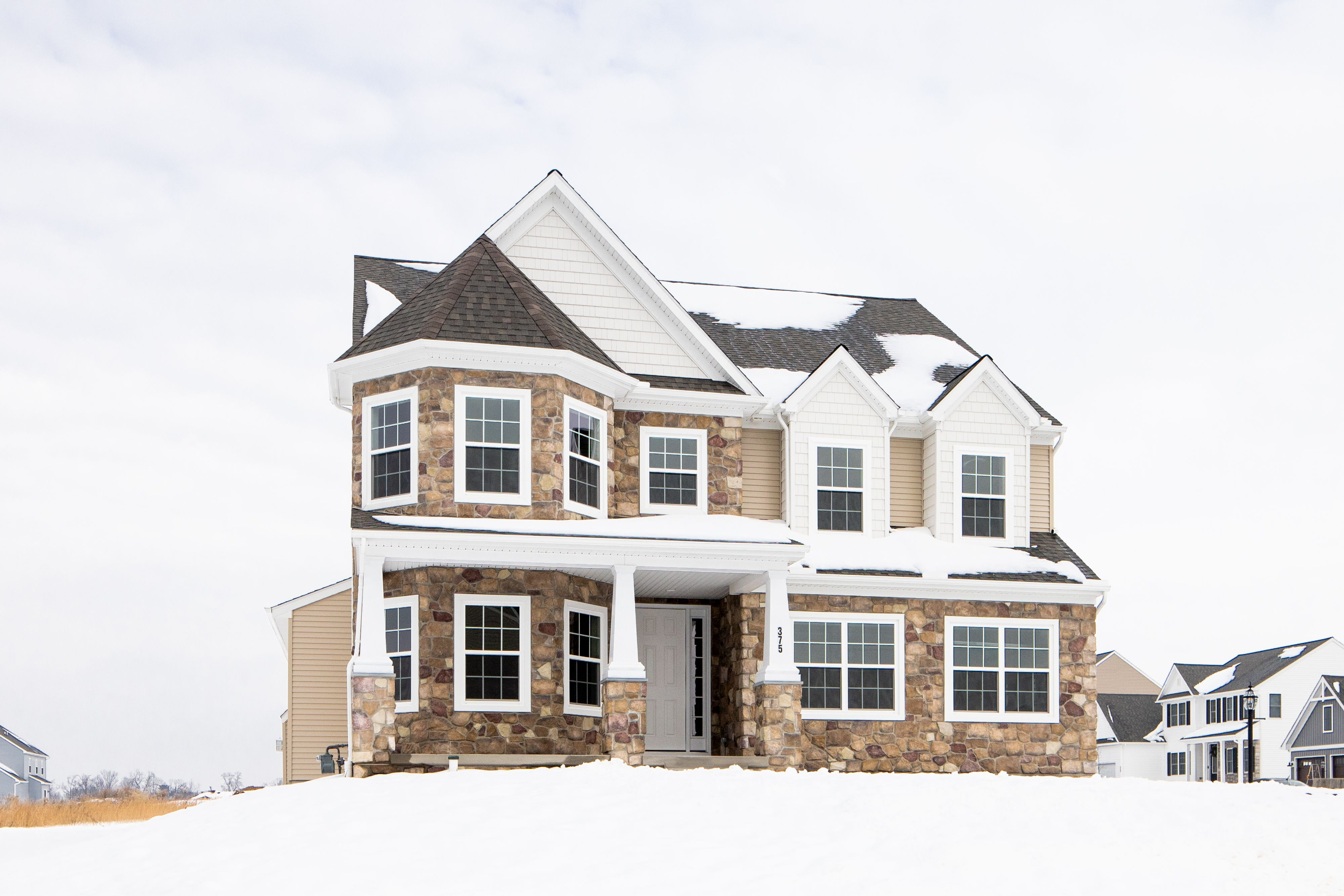 Exterior featured in the Covington Farmhouse By Keystone Custom Homes in Baltimore, MD