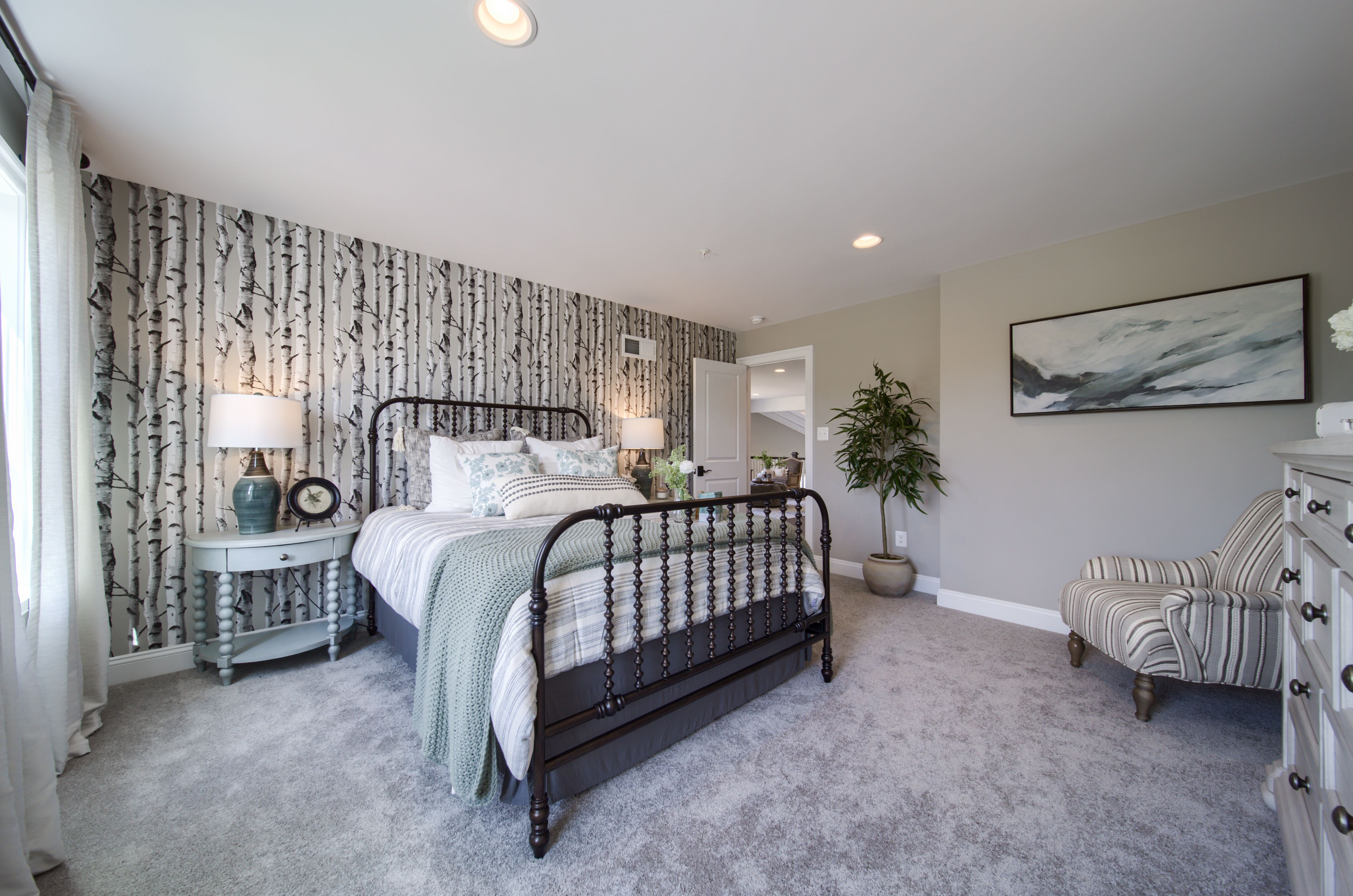 Bedroom featured in the Morgan Traditional - Inside Unit By Keystone Custom Homes in Washington, MD