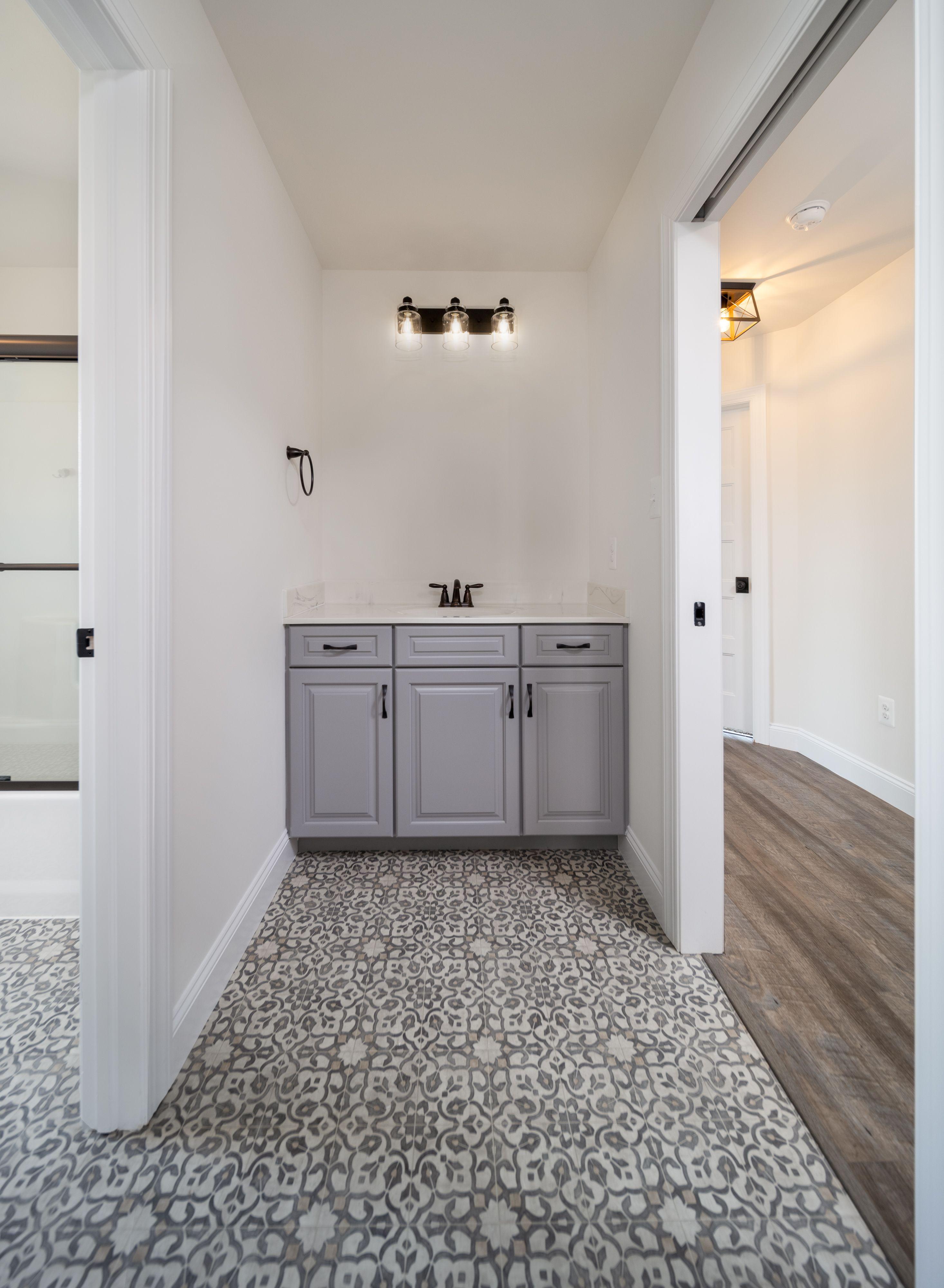 Bathroom featured in the Covington Farmhouse By Keystone Custom Homes in Wilmington-Newark, MD