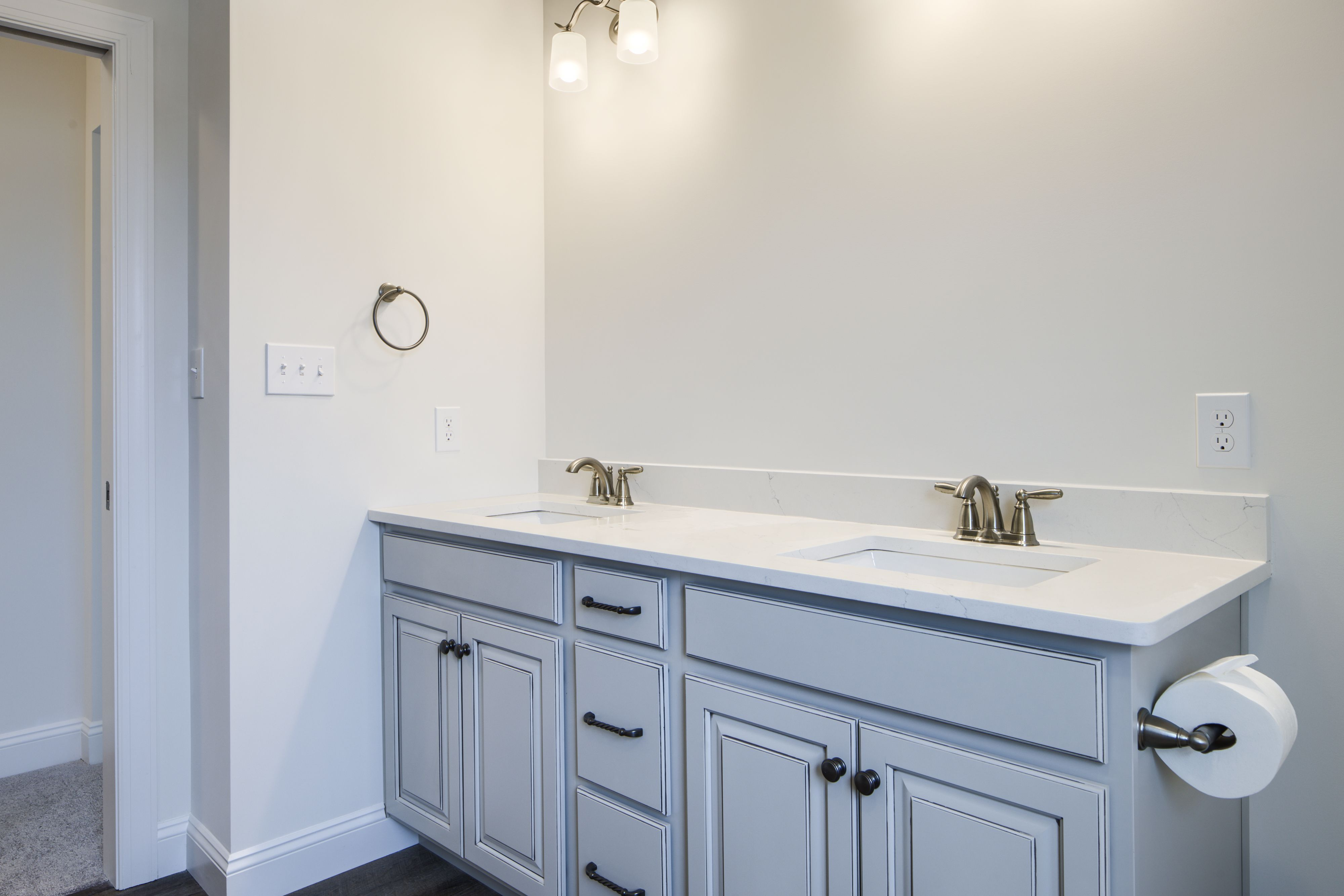 Bathroom featured in the Oxford Traditional By Keystone Custom Homes in Harrisburg, PA