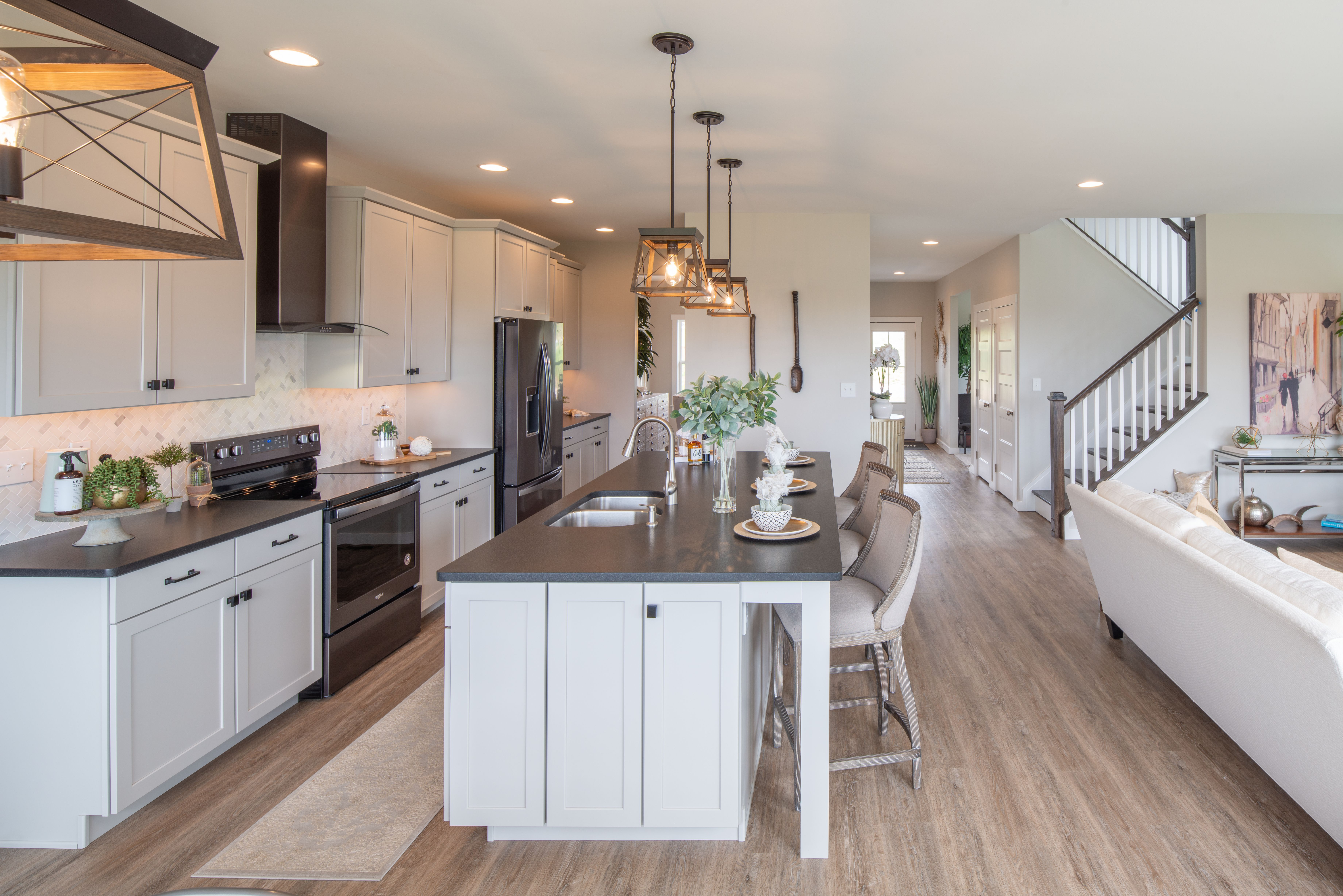 Kitchen featured in the Addison Heritage By Keystone Custom Homes in Baltimore, MD