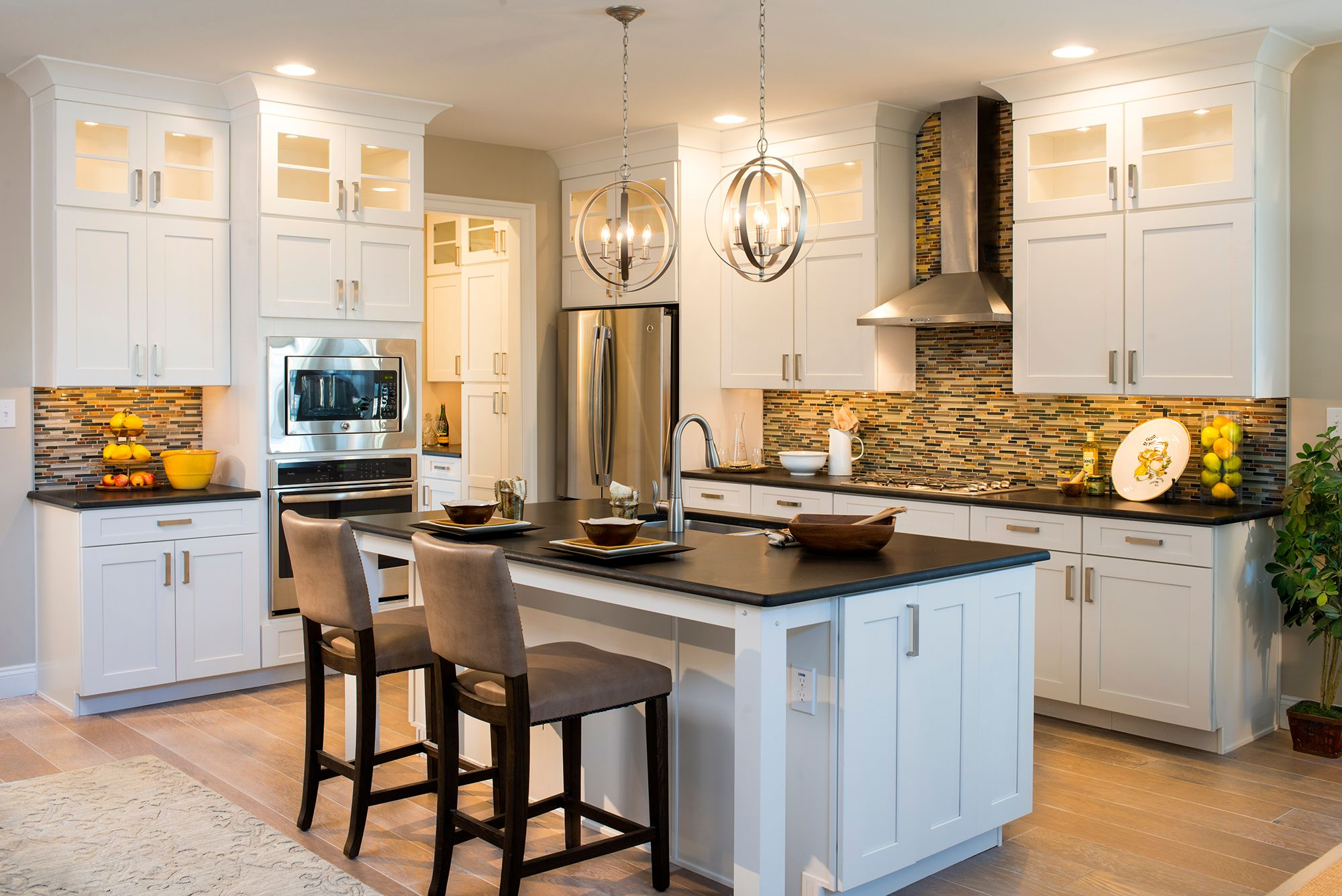 Kitchen featured in the Manchester English Cottage By Keystone Custom Homes in Washington, MD