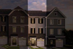 Hayward Traditional - End unit - Kellerton Townhomes: Frederick, Maryland - Keystone Custom Homes